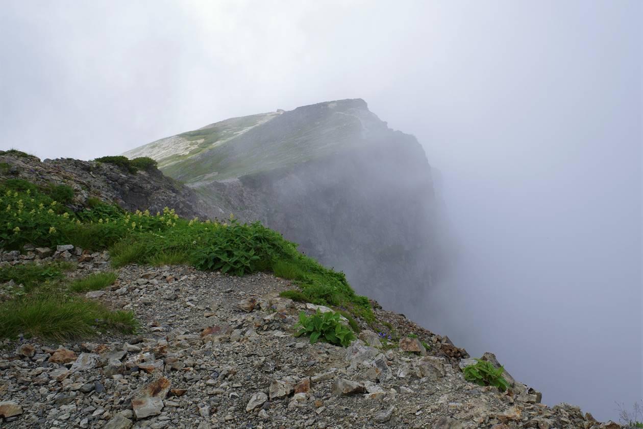 白馬岳のラピュタ感