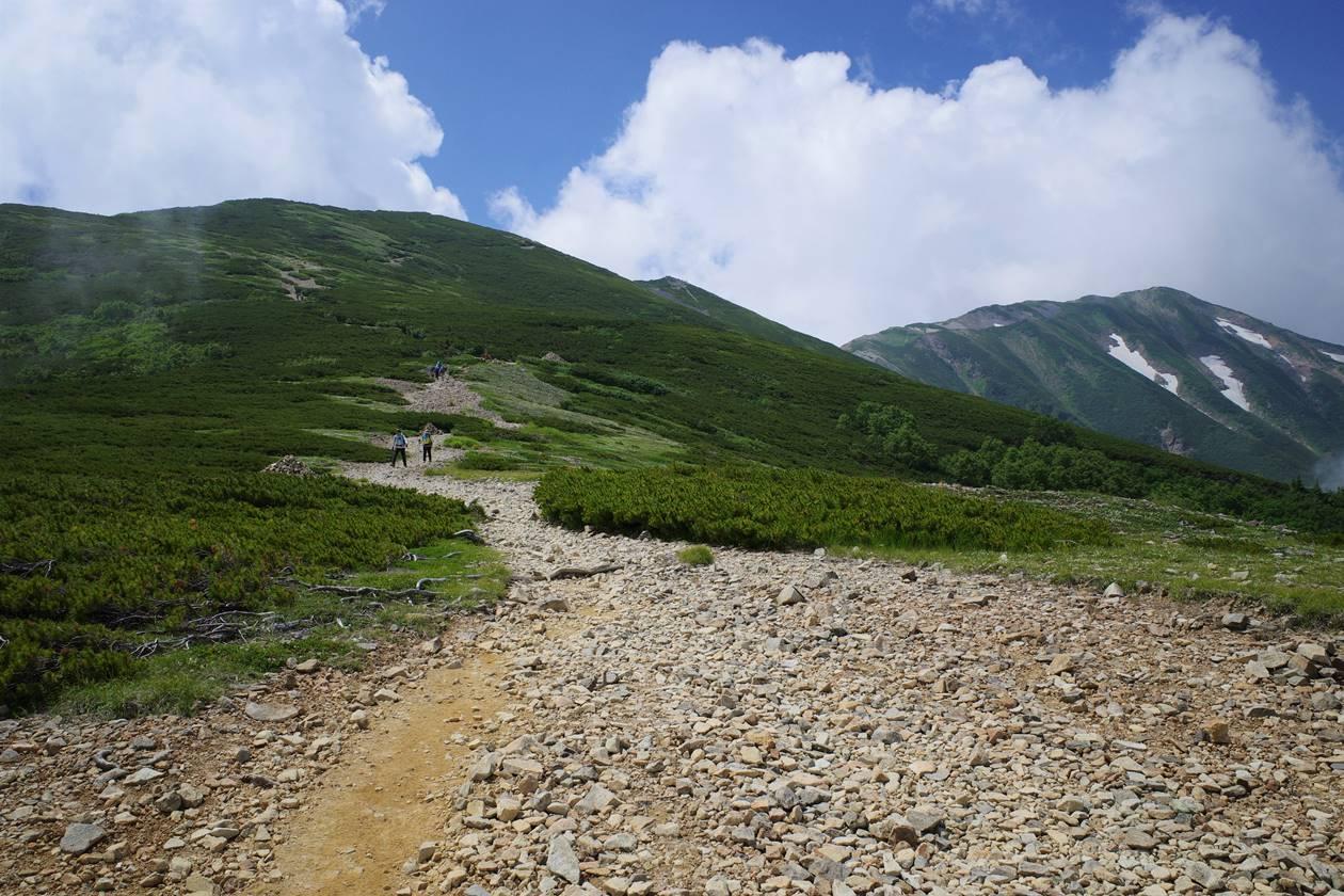 白馬岳 1泊2日テント泊登山