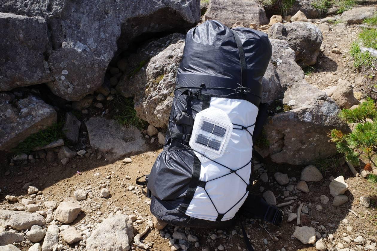 ULザック テント泊登山