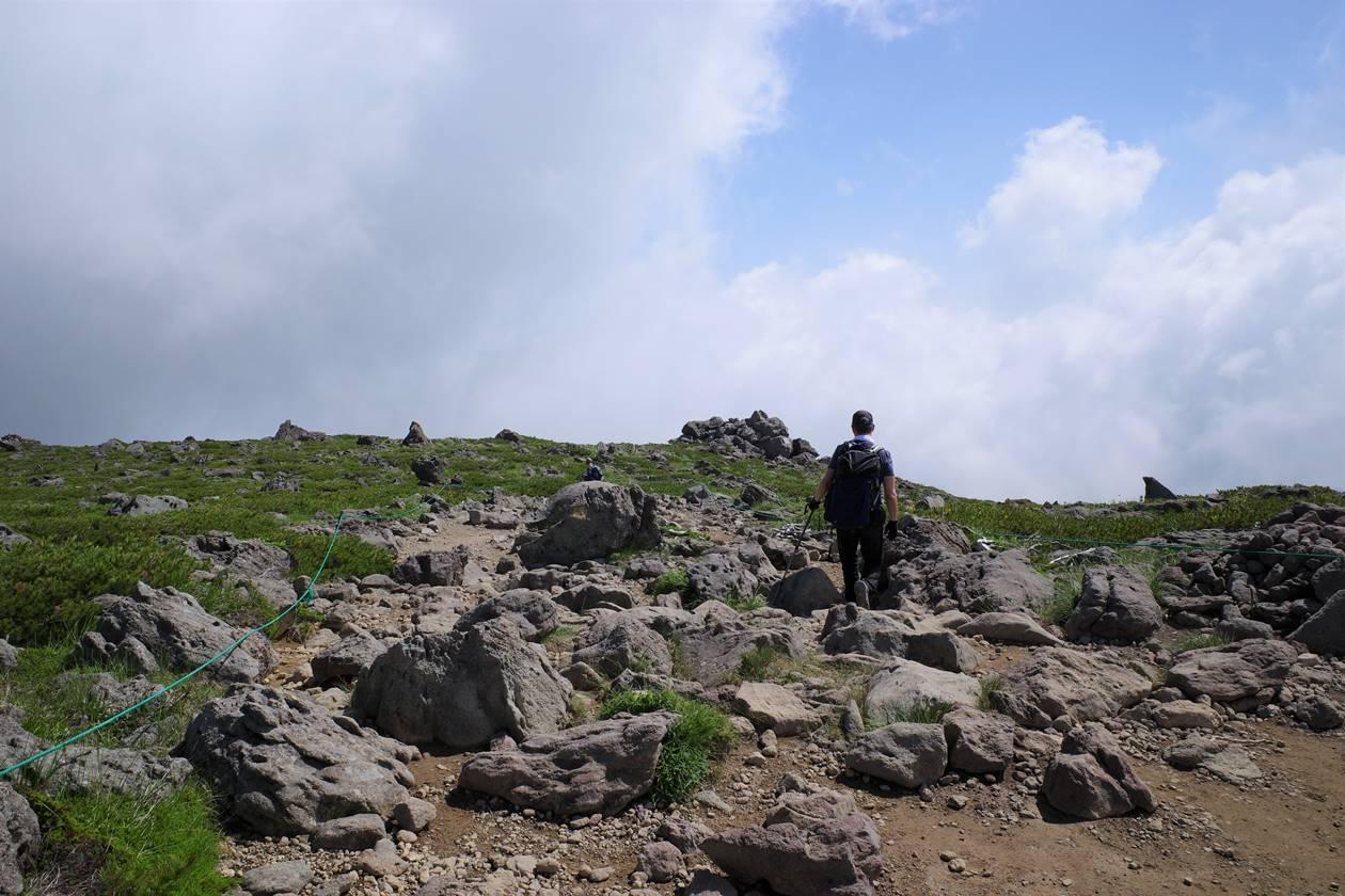 白馬乗鞍岳からダイナミックな夏雲