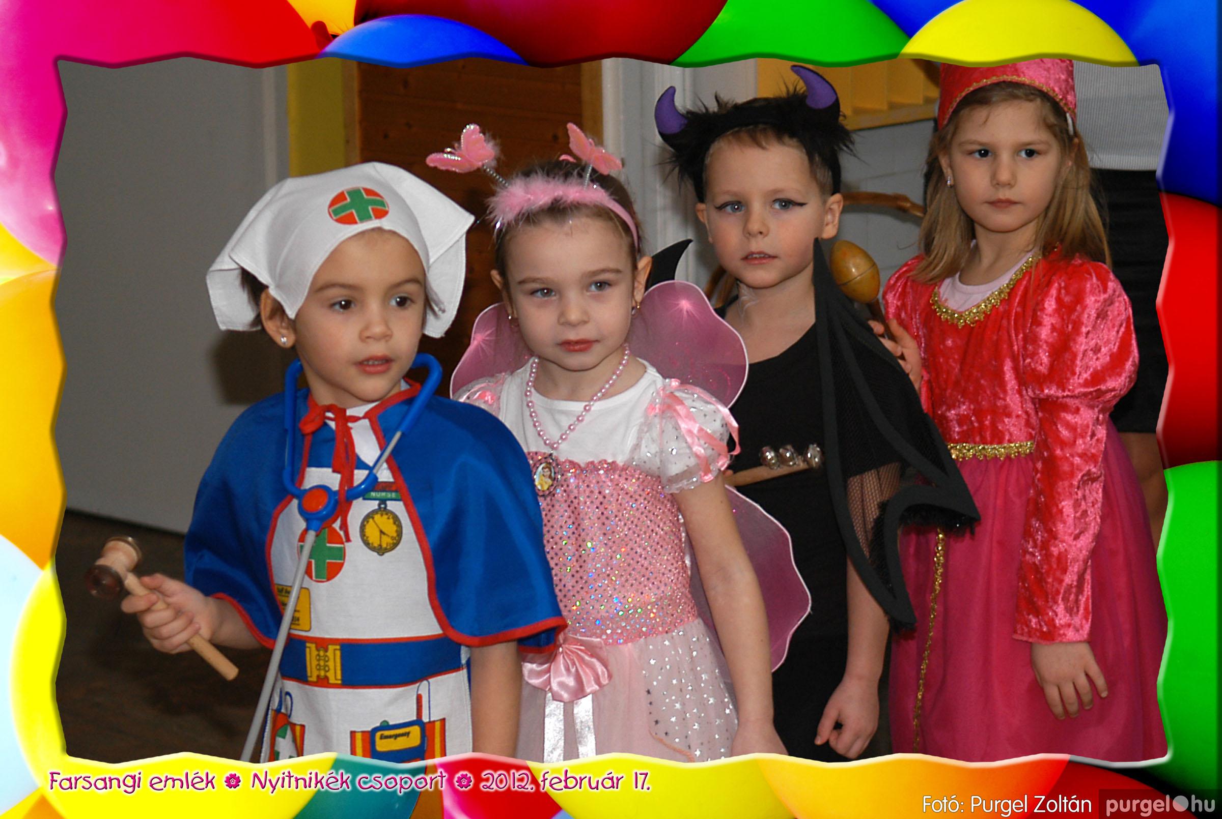 2012.02.17. 008 Kurca-parti Óvoda farsang 2012. - Nyitnikék csoport - Fotó:PURGEL ZOLTÁN© 508.jpg