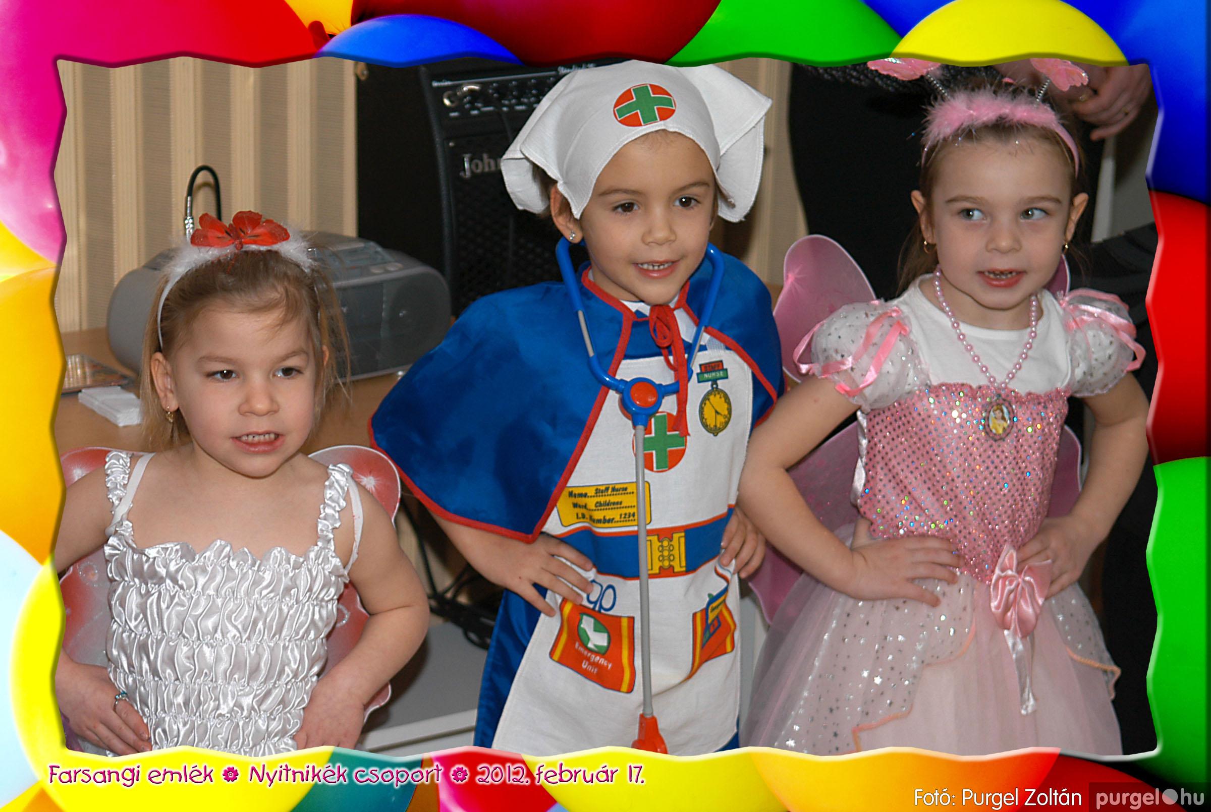 2012.02.17. 015 Kurca-parti Óvoda farsang 2012. - Nyitnikék csoport - Fotó:PURGEL ZOLTÁN© 515.jpg
