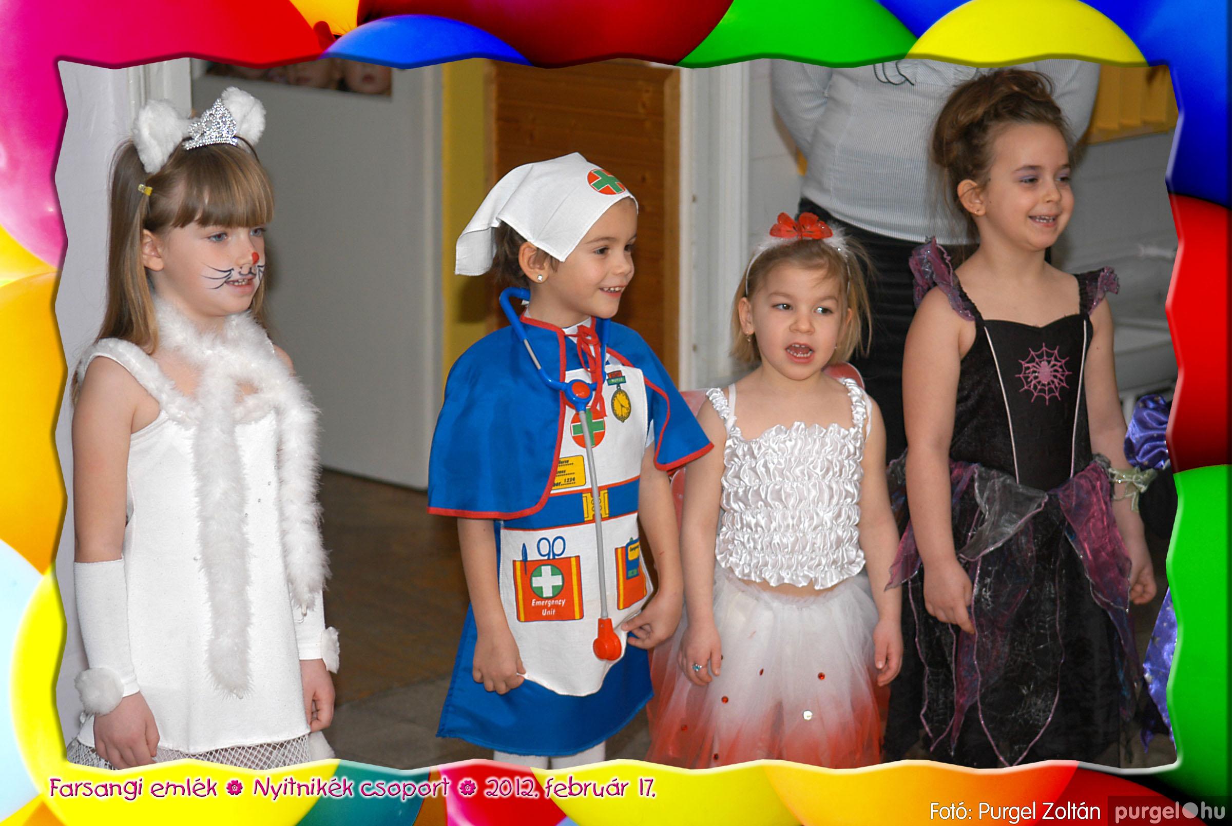 2012.02.17. 021 Kurca-parti Óvoda farsang 2012. - Nyitnikék csoport - Fotó:PURGEL ZOLTÁN© 521.jpg