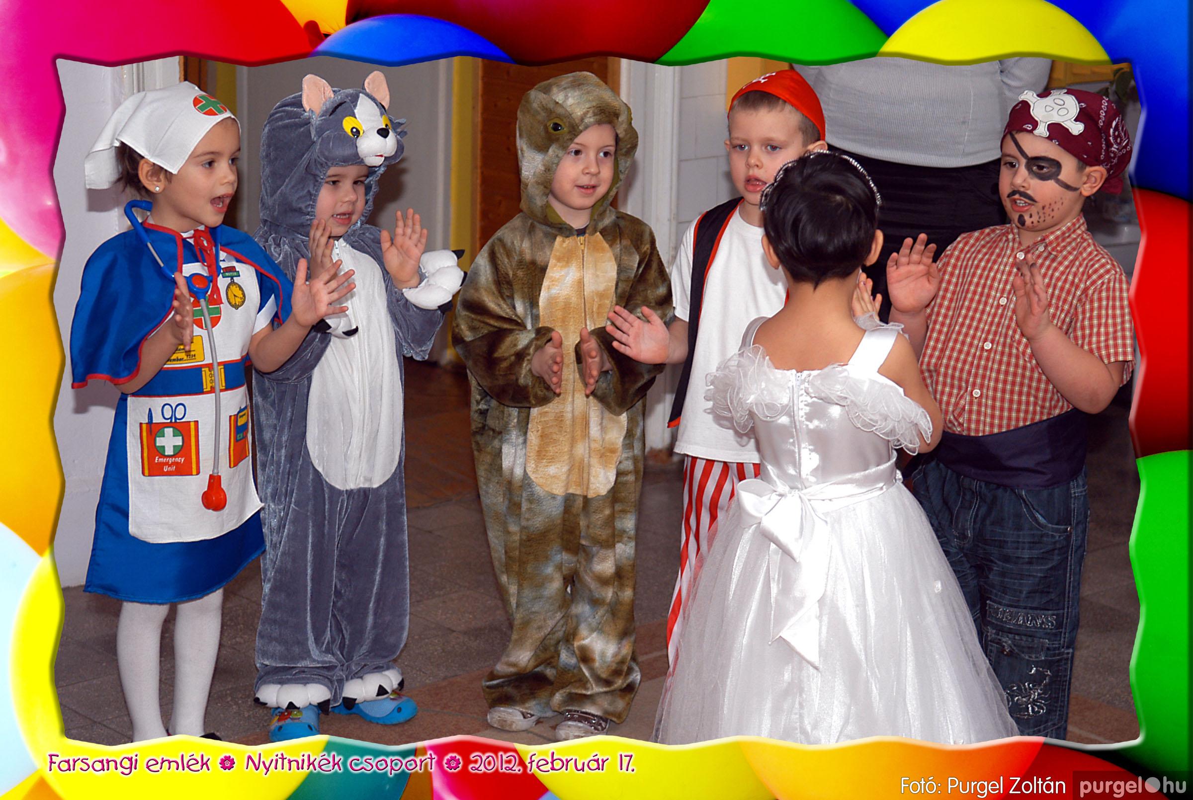 2012.02.17. 028 Kurca-parti Óvoda farsang 2012. - Nyitnikék csoport - Fotó:PURGEL ZOLTÁN© 528.jpg