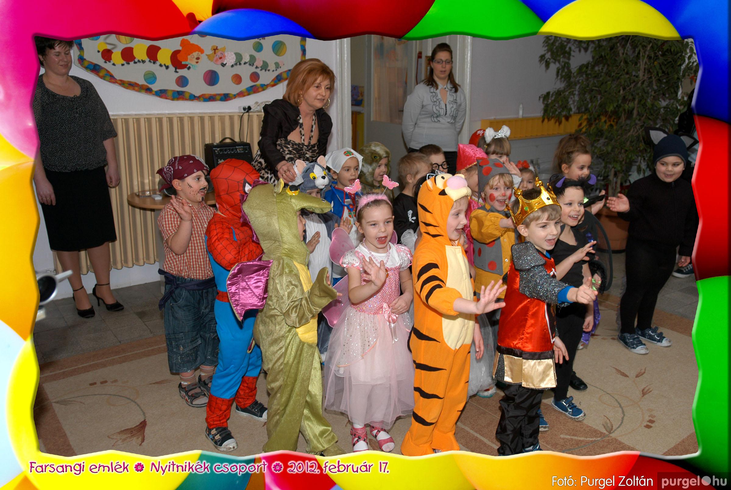 2012.02.17. 035 Kurca-parti Óvoda farsang 2012. - Nyitnikék csoport - Fotó:PURGEL ZOLTÁN© 535.jpg