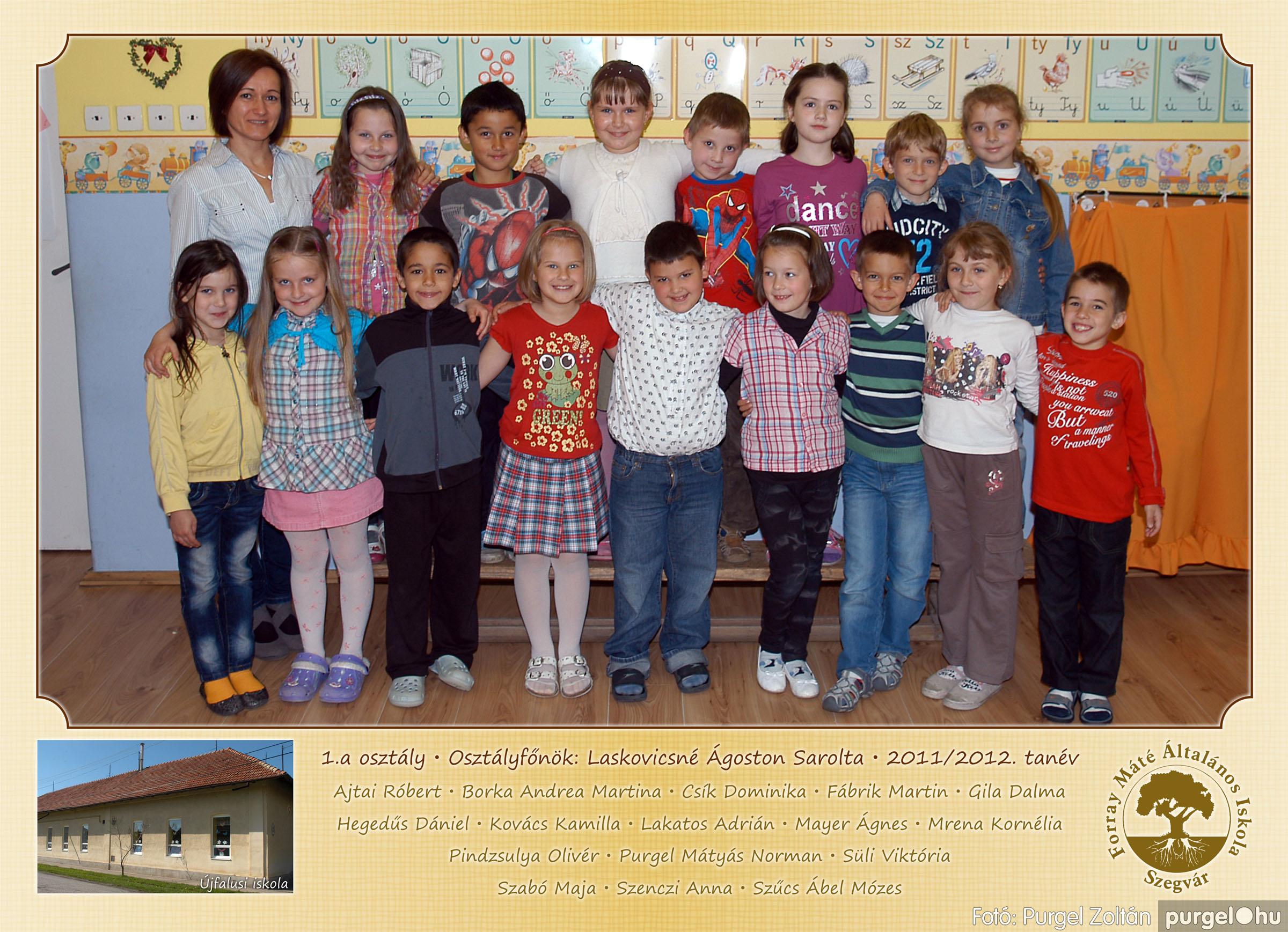 2012.04.25-06.12. 002 Forray Máté Általános Iskola osztályképek 2011. - Fotó:PURGEL ZOLTÁN© 1a-2.jpg