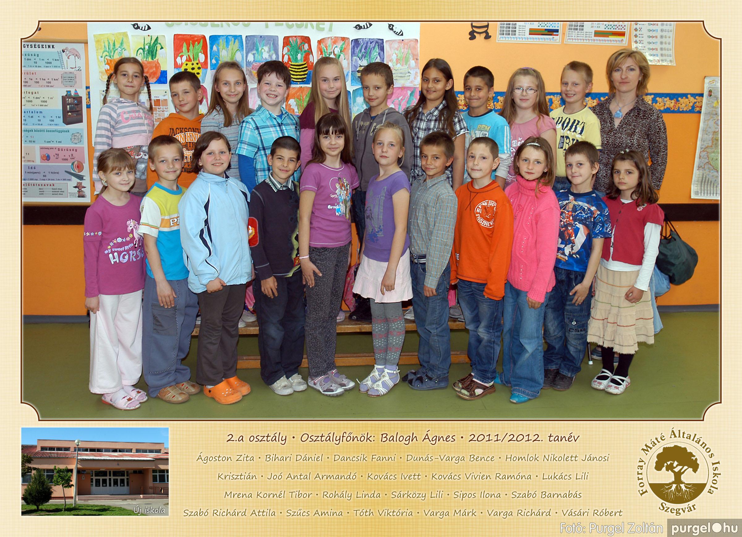 2012.04.25-06.12. 005 Forray Máté Általános Iskola osztályképek 2011. - Fotó:PURGEL ZOLTÁN© 2a-1.jpg