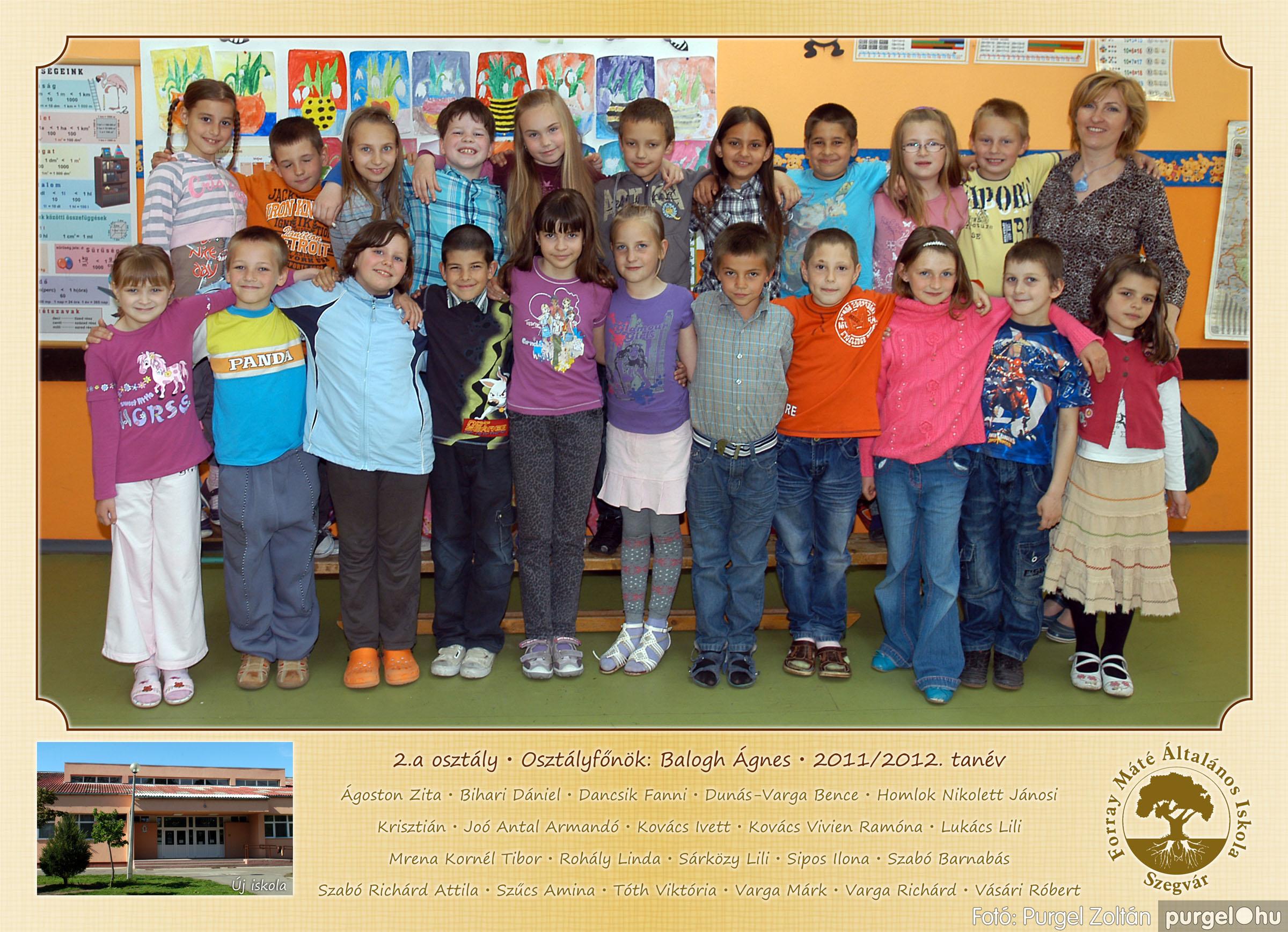 2012.04.25-06.12. 006 Forray Máté Általános Iskola osztályképek 2011. - Fotó:PURGEL ZOLTÁN© 2a-2.jpg