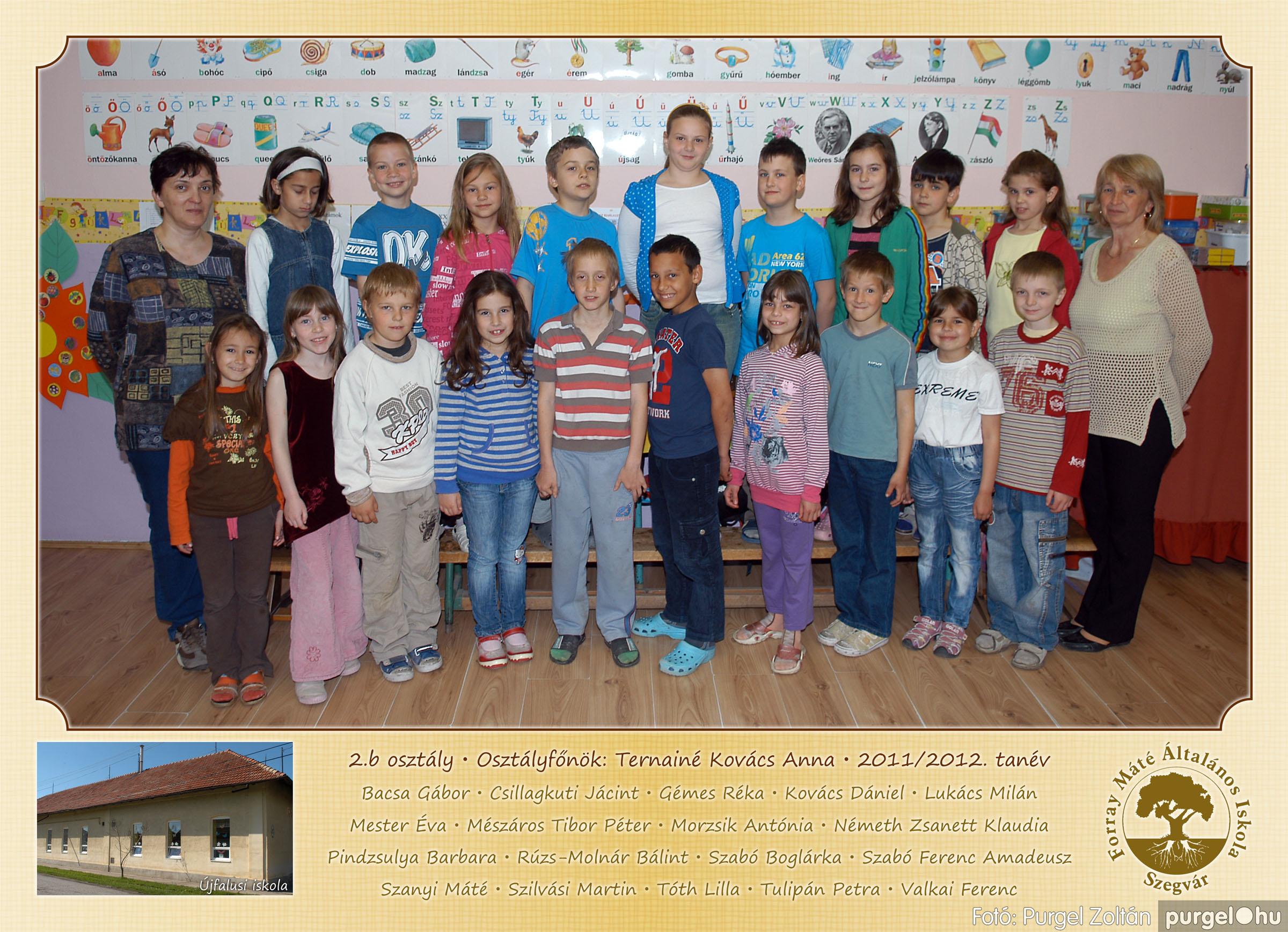 2012.04.25-06.12. 007 Forray Máté Általános Iskola osztályképek 2011. - Fotó:PURGEL ZOLTÁN© 2b-1.jpg