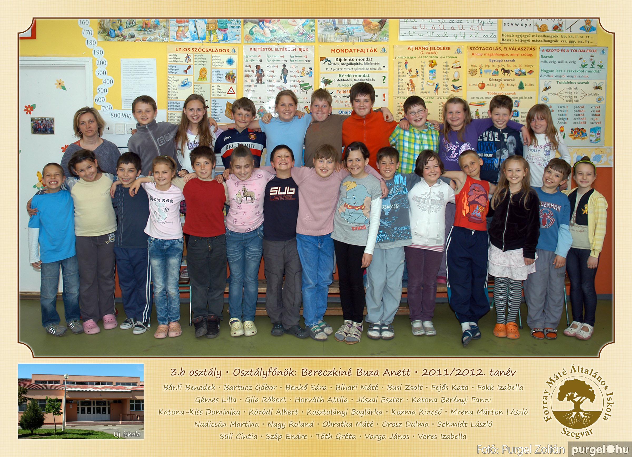 2012.04.25-06.12. 012 Forray Máté Általános Iskola osztályképek 2011. - Fotó:PURGEL ZOLTÁN© 3b-2.jpg