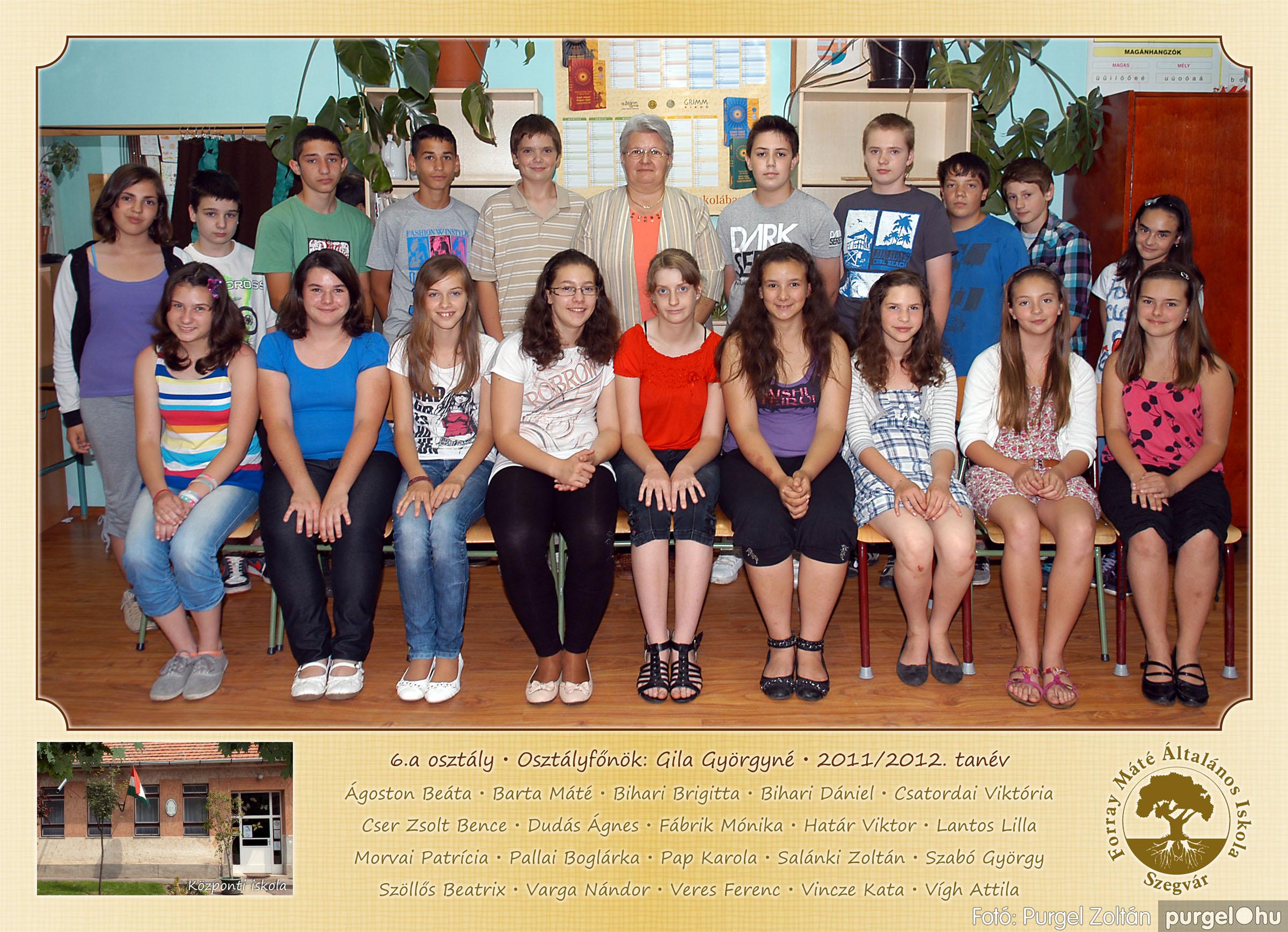 2012.04.25-06.12. 019 Forray Máté Általános Iskola osztályképek 2011. - Fotó:PURGEL ZOLTÁN© 6a-1.jpg