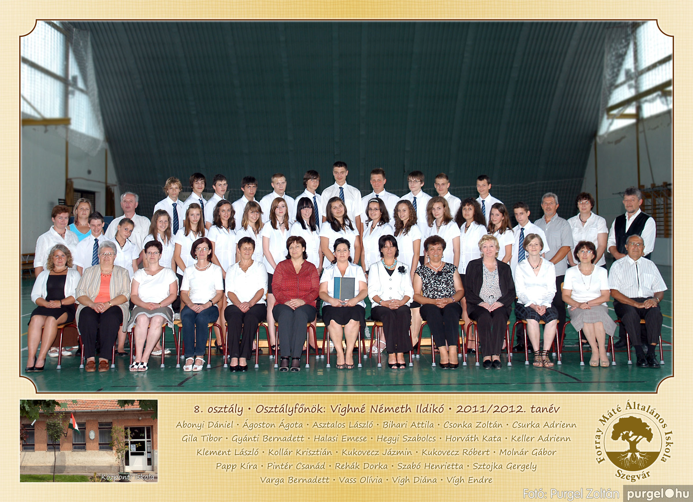 2012.04.25-06.12. 027 Forray Máté Általános Iskola osztályképek 2011. - Fotó:PURGEL ZOLTÁN© 8.jpg