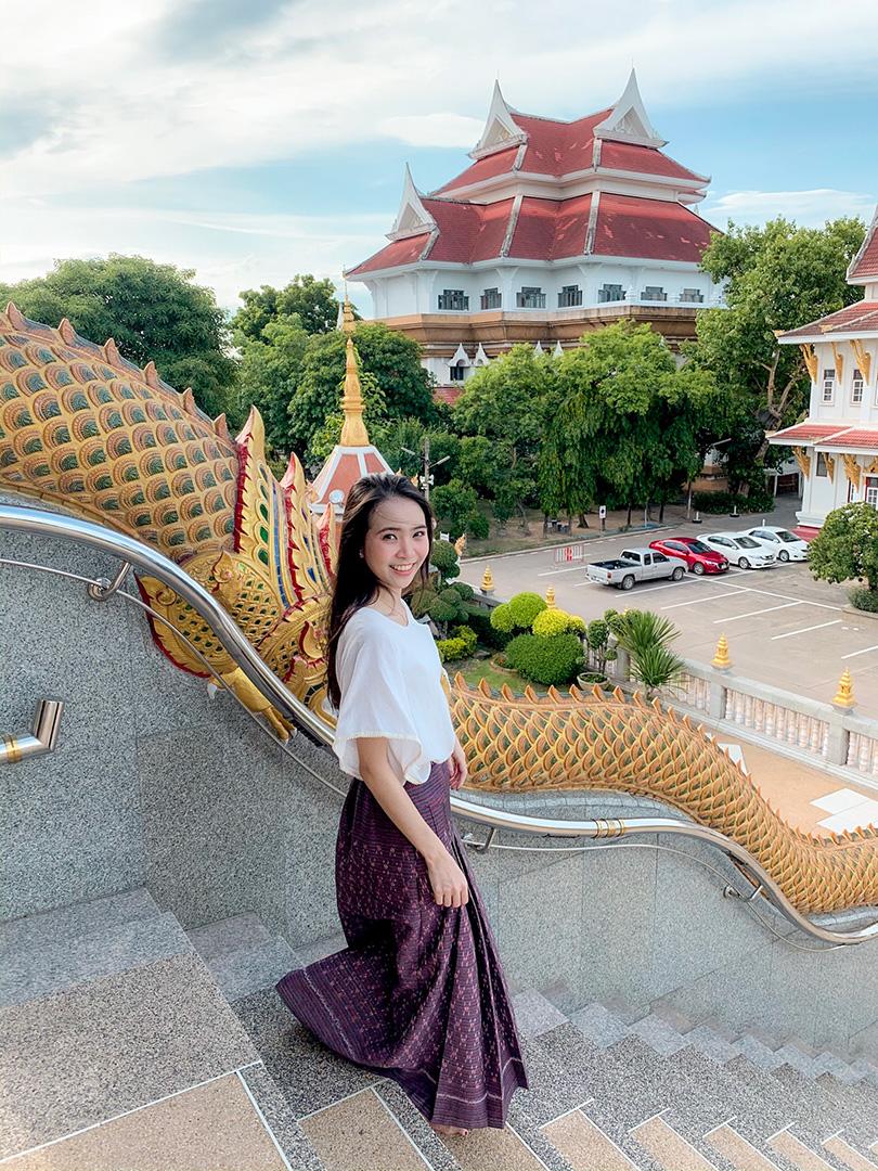 พรีเซ็ตโทนคลีนวัดไทย สถานที่วัดโพธิสมภรณ์ กล้อง iPhone XS