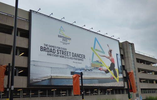 Birmingham 2022 - billboard on Paradise Circus Queensway