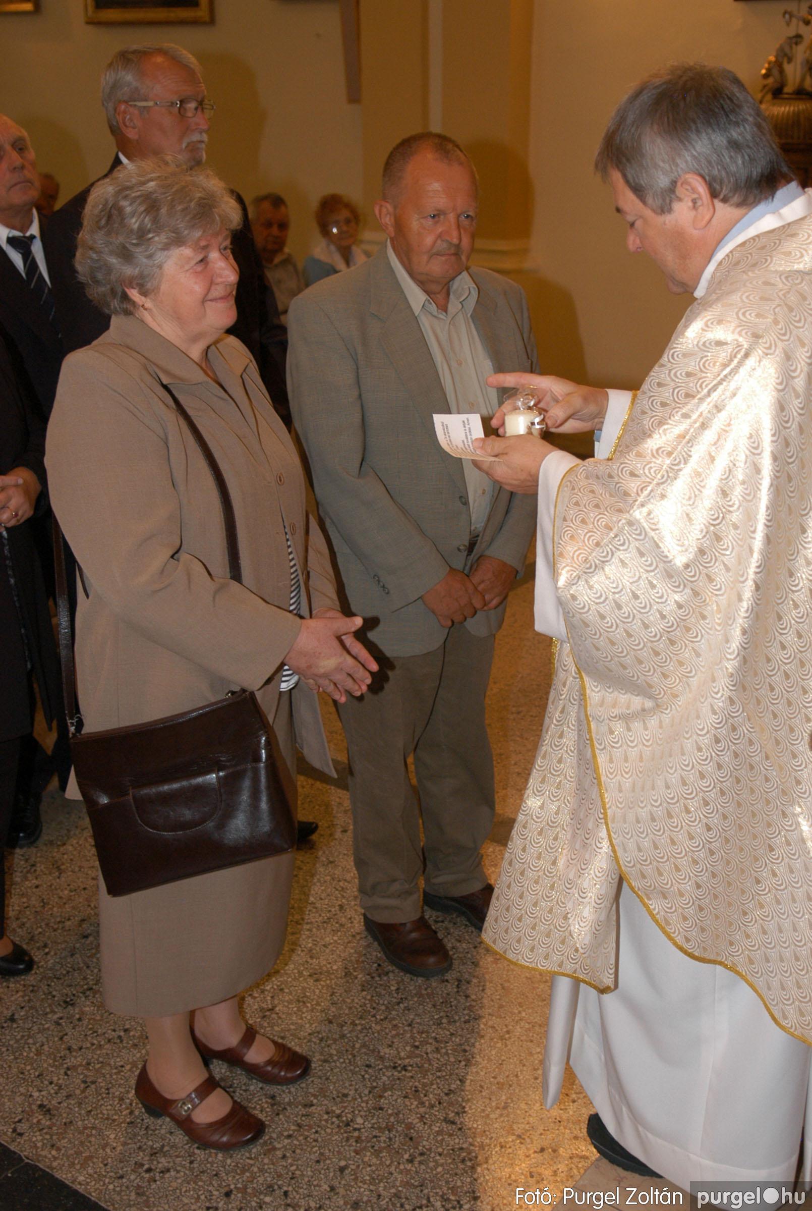 2012.09.23. 053 Kisboldogasszony Templom házassági évfordulók - Fotó:PURGEL ZOLTÁN© DSC_0164q.jpg