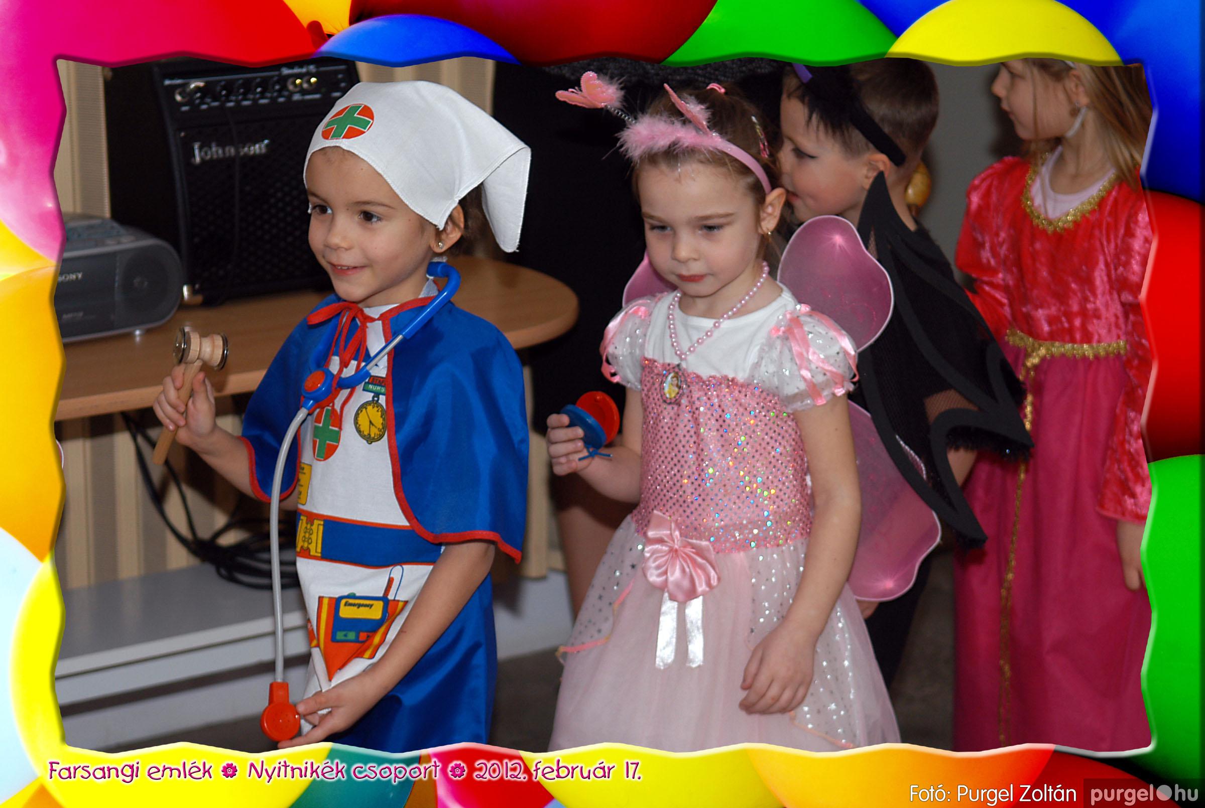 2012.02.17. 001 Kurca-parti Óvoda farsang 2012. - Nyitnikék csoport - Fotó:PURGEL ZOLTÁN© 501.jpg