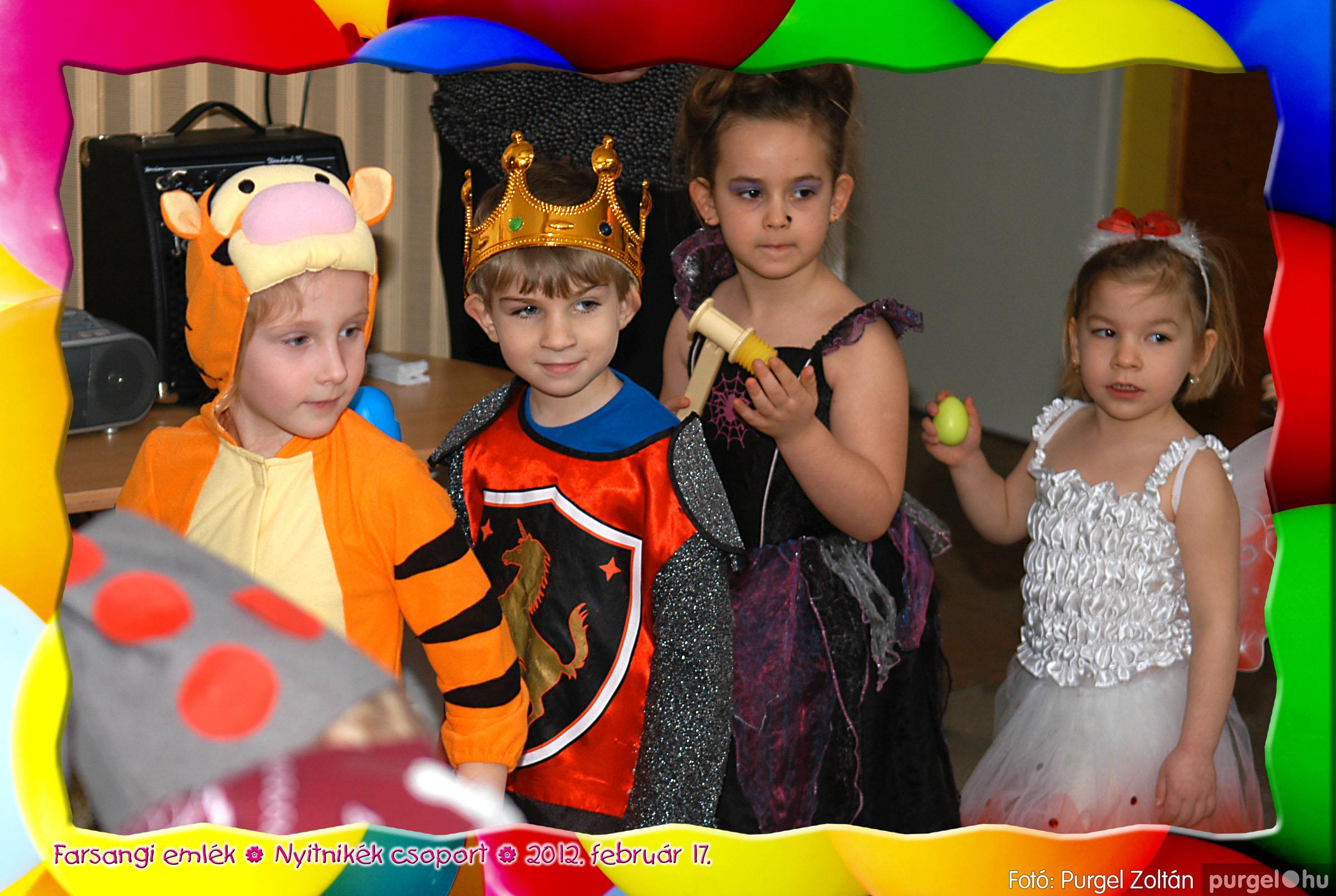 2012.02.17. 010 Kurca-parti Óvoda farsang 2012. - Nyitnikék csoport - Fotó:PURGEL ZOLTÁN© 510.jpg