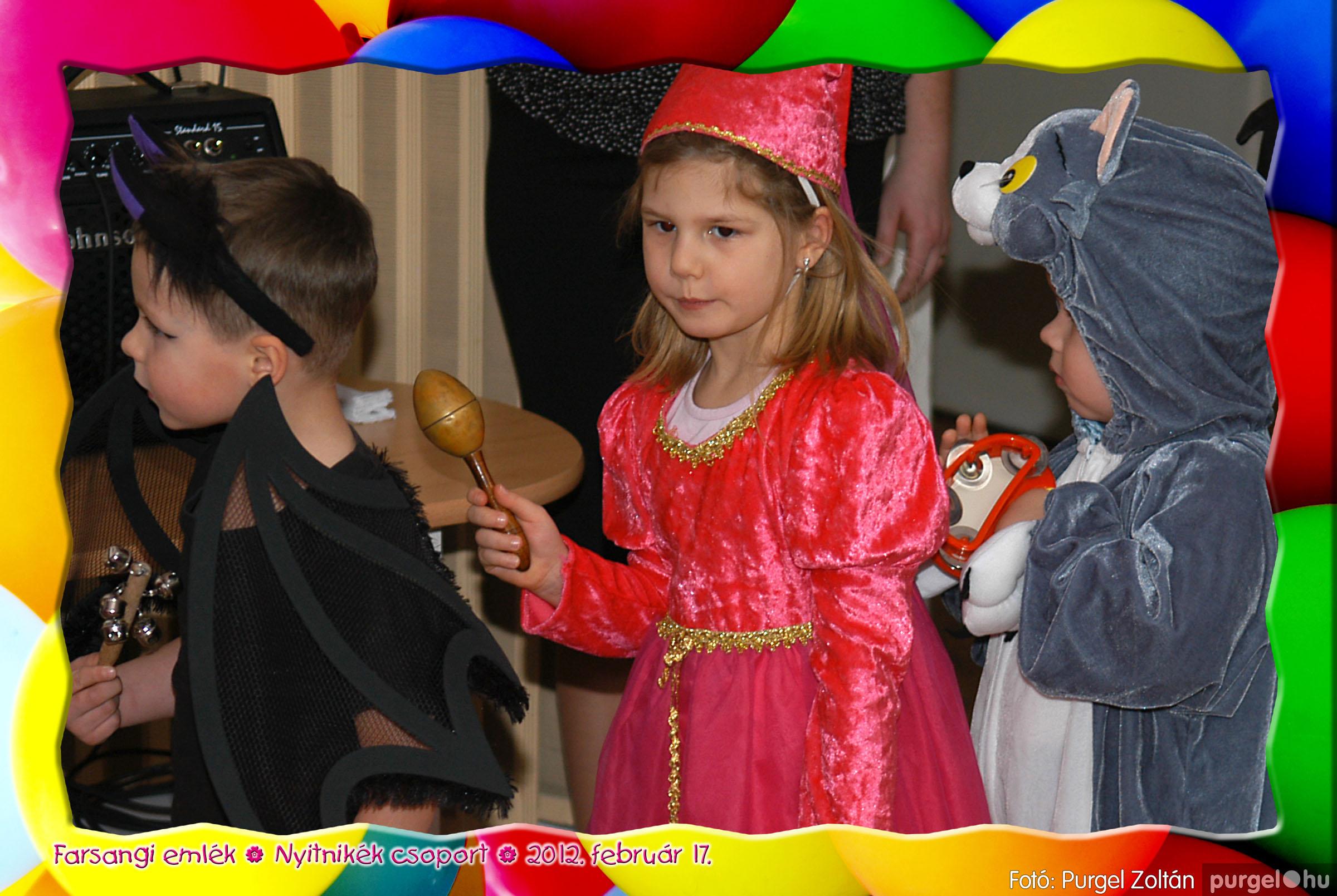 2012.02.17. 002 Kurca-parti Óvoda farsang 2012. - Nyitnikék csoport - Fotó:PURGEL ZOLTÁN© 502.jpg