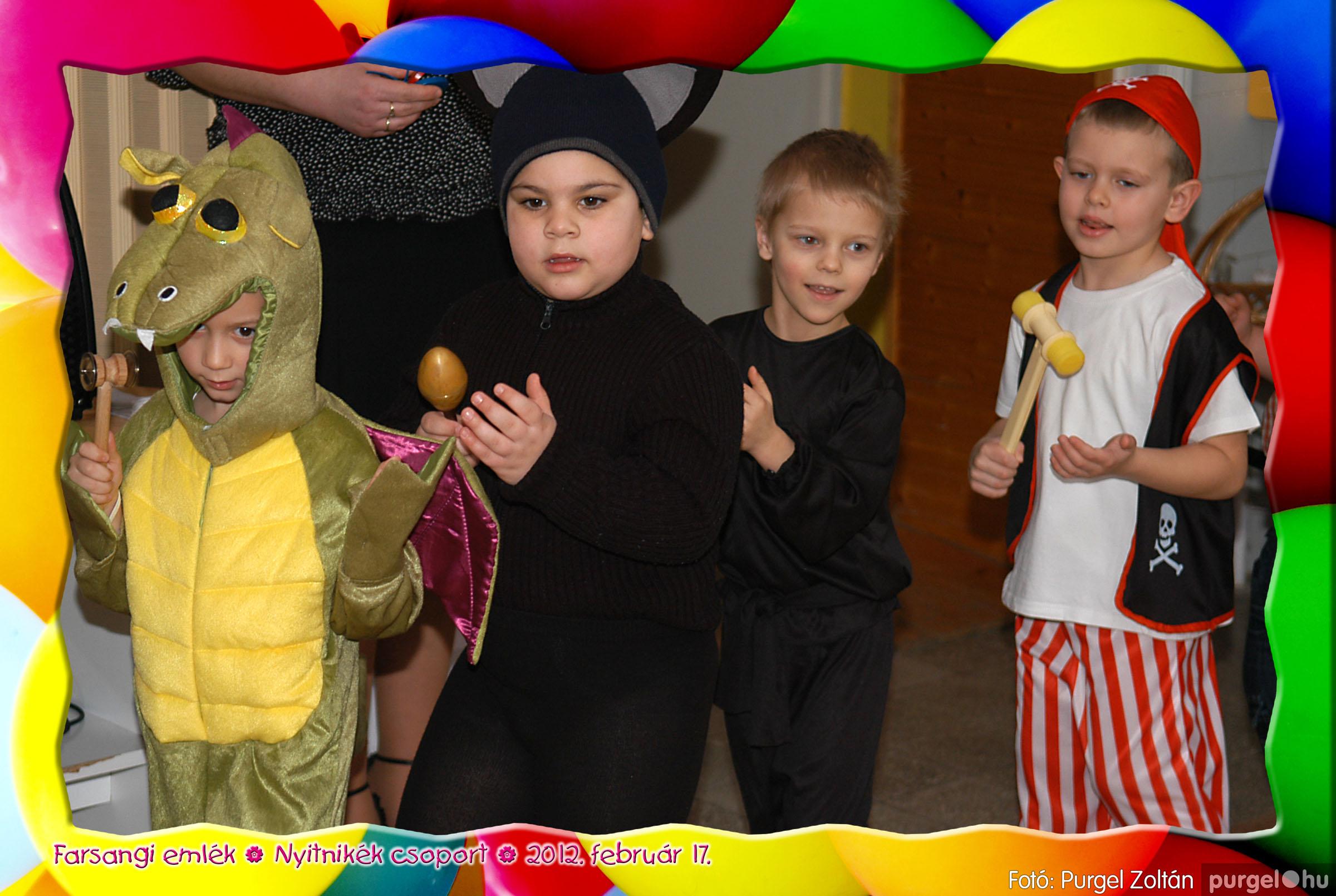 2012.02.17. 005 Kurca-parti Óvoda farsang 2012. - Nyitnikék csoport - Fotó:PURGEL ZOLTÁN© 505.jpg