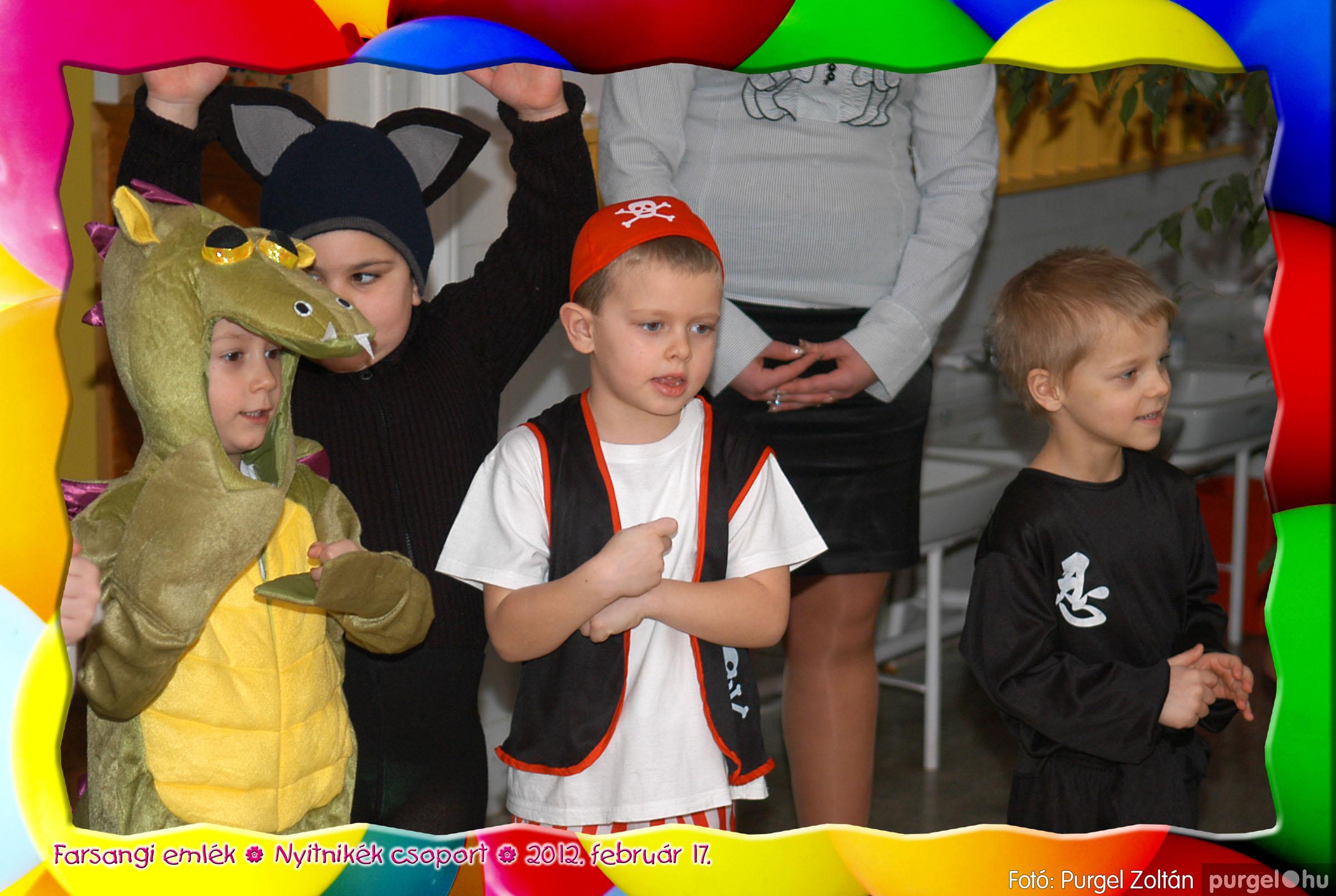 2012.02.17. 019 Kurca-parti Óvoda farsang 2012. - Nyitnikék csoport - Fotó:PURGEL ZOLTÁN© 519.jpg