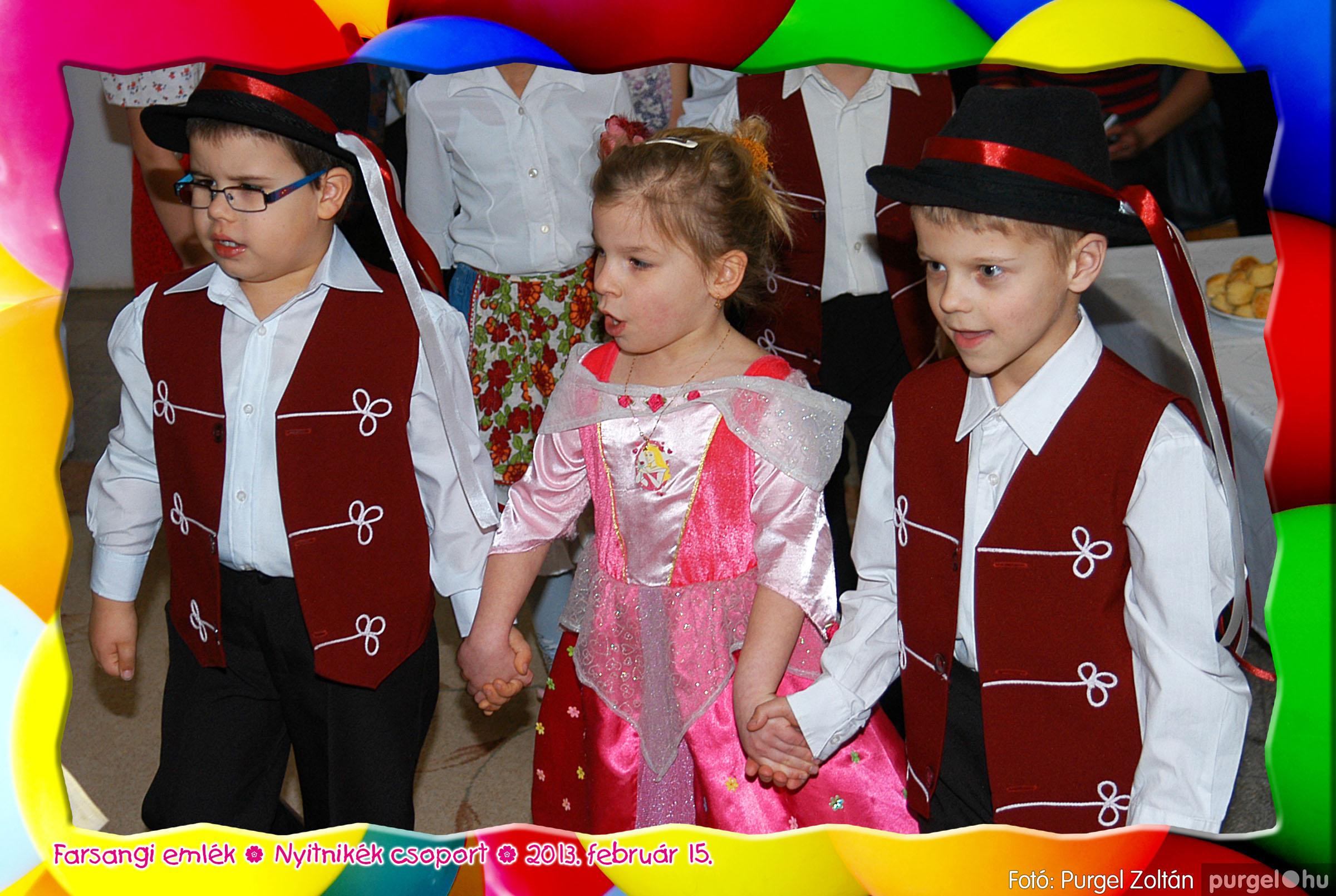 2013.02.15. 005 Kurca-parti Óvoda farsang 2013. - Nyitnikék csoport - Fotó:PURGEL ZOLTÁN© 505.jpg