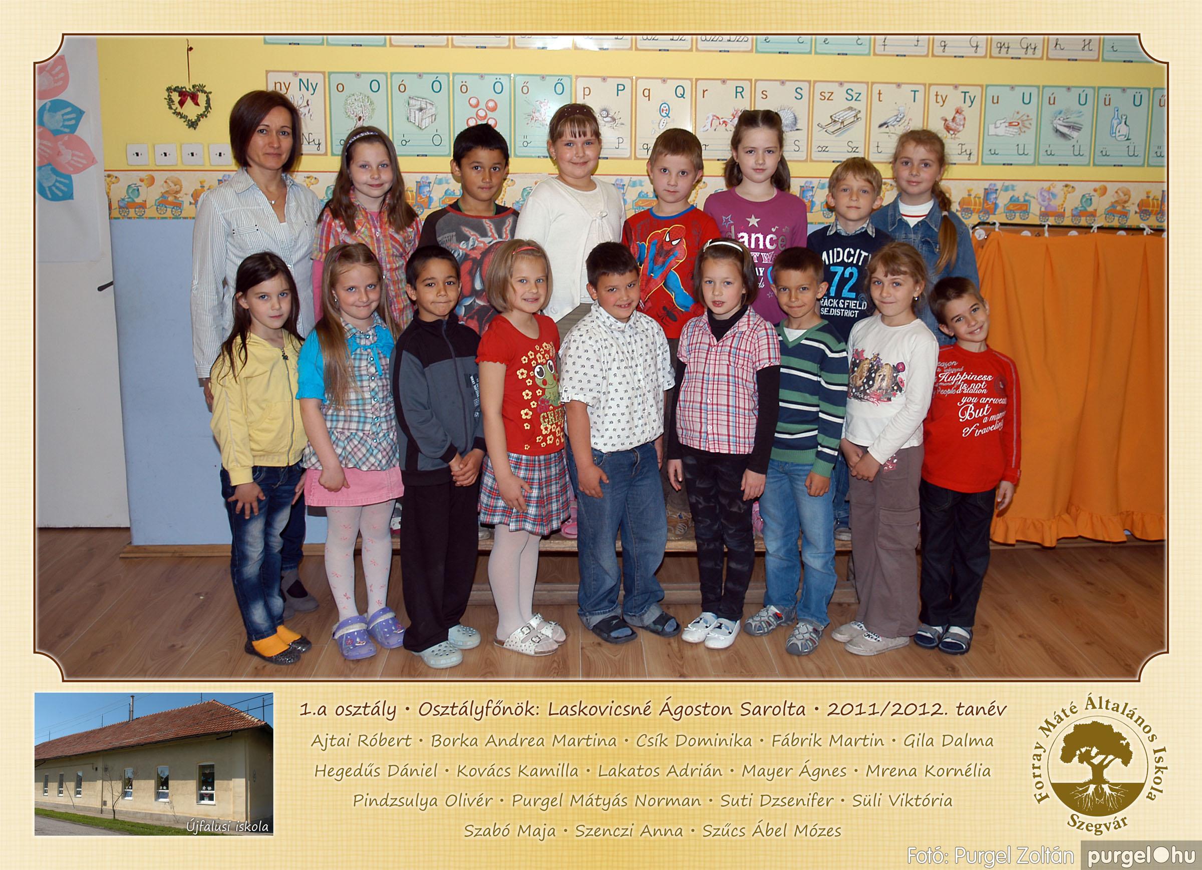 2012.04.25-06.12. 001 Forray Máté Általános Iskola osztályképek 2011. - Fotó:PURGEL ZOLTÁN© 1a-1.jpg