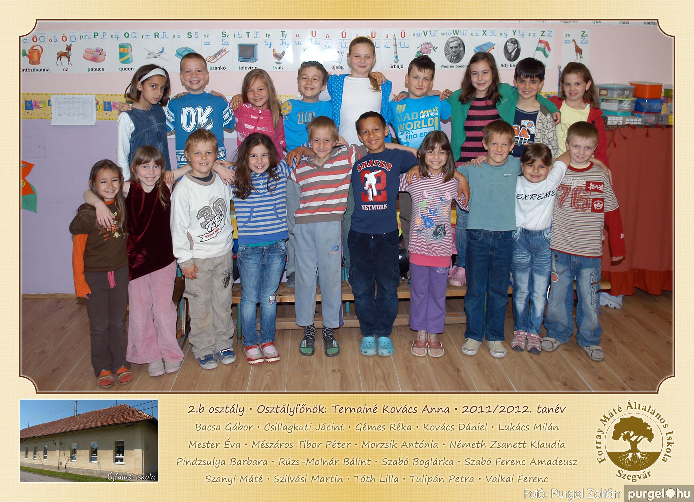 2012.04.25-06.12. 008 Forray Máté Általános Iskola osztályképek 2011. - Fotó:PURGEL ZOLTÁN© 2b-2.jpg