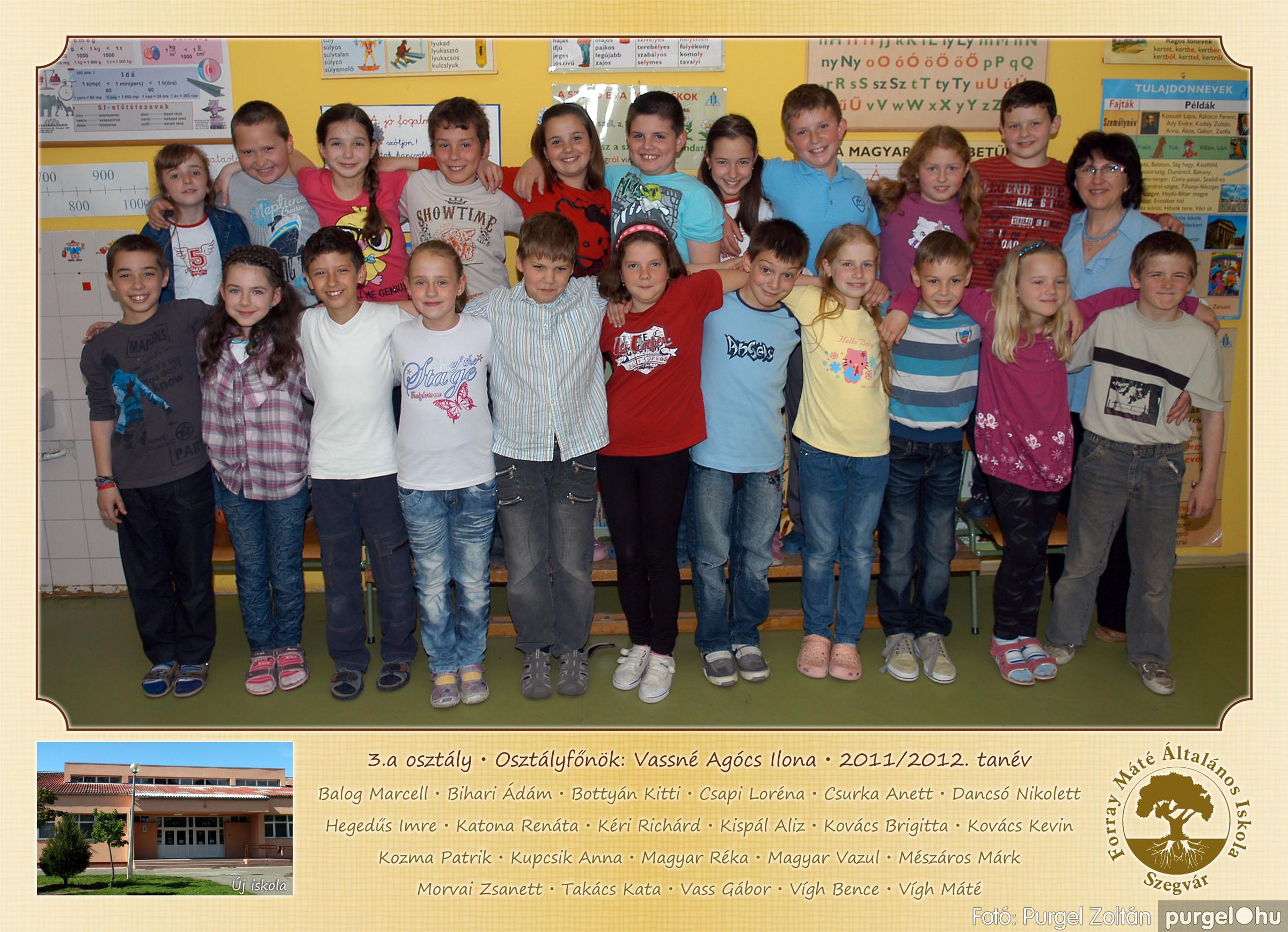 2012.04.25-06.12. 010 Forray Máté Általános Iskola osztályképek 2011. - Fotó:PURGEL ZOLTÁN© 3a-2.jpg