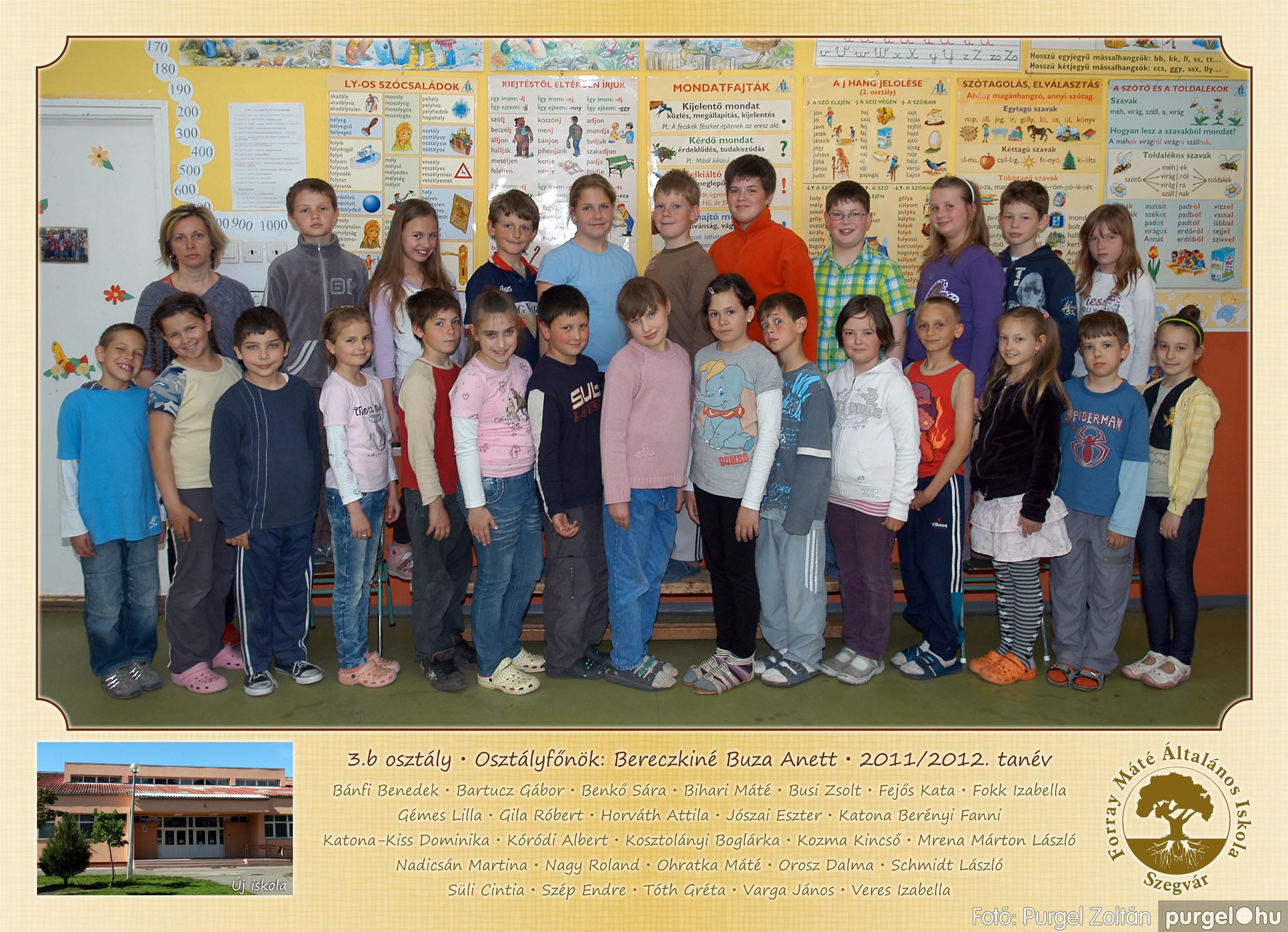 2012.04.25-06.12. 011 Forray Máté Általános Iskola osztályképek 2011. - Fotó:PURGEL ZOLTÁN© 3b-1.jpg