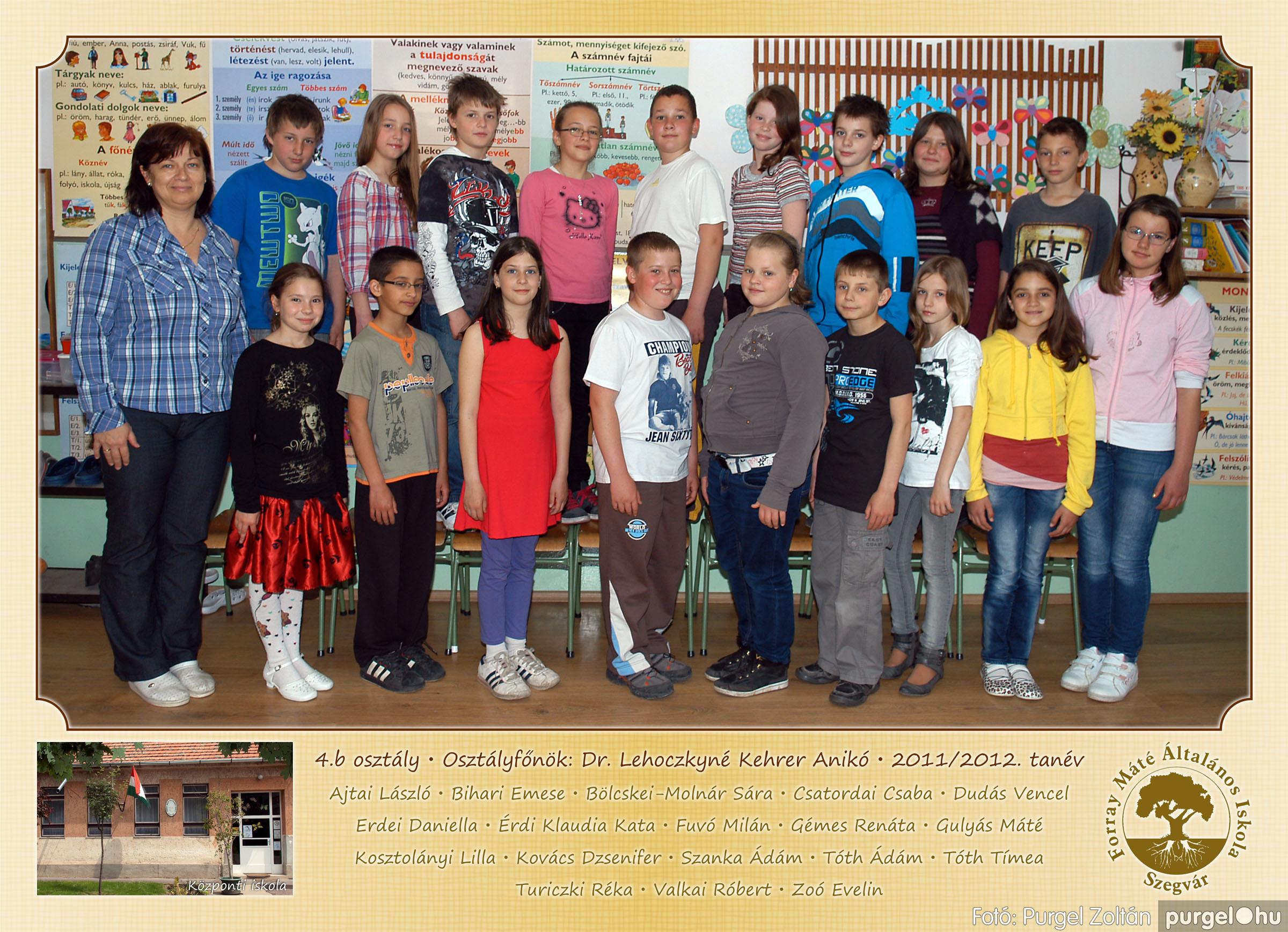 2012.04.25-06.12. 015 Forray Máté Általános Iskola osztályképek 2011. - Fotó:PURGEL ZOLTÁN© 4b-1.jpg