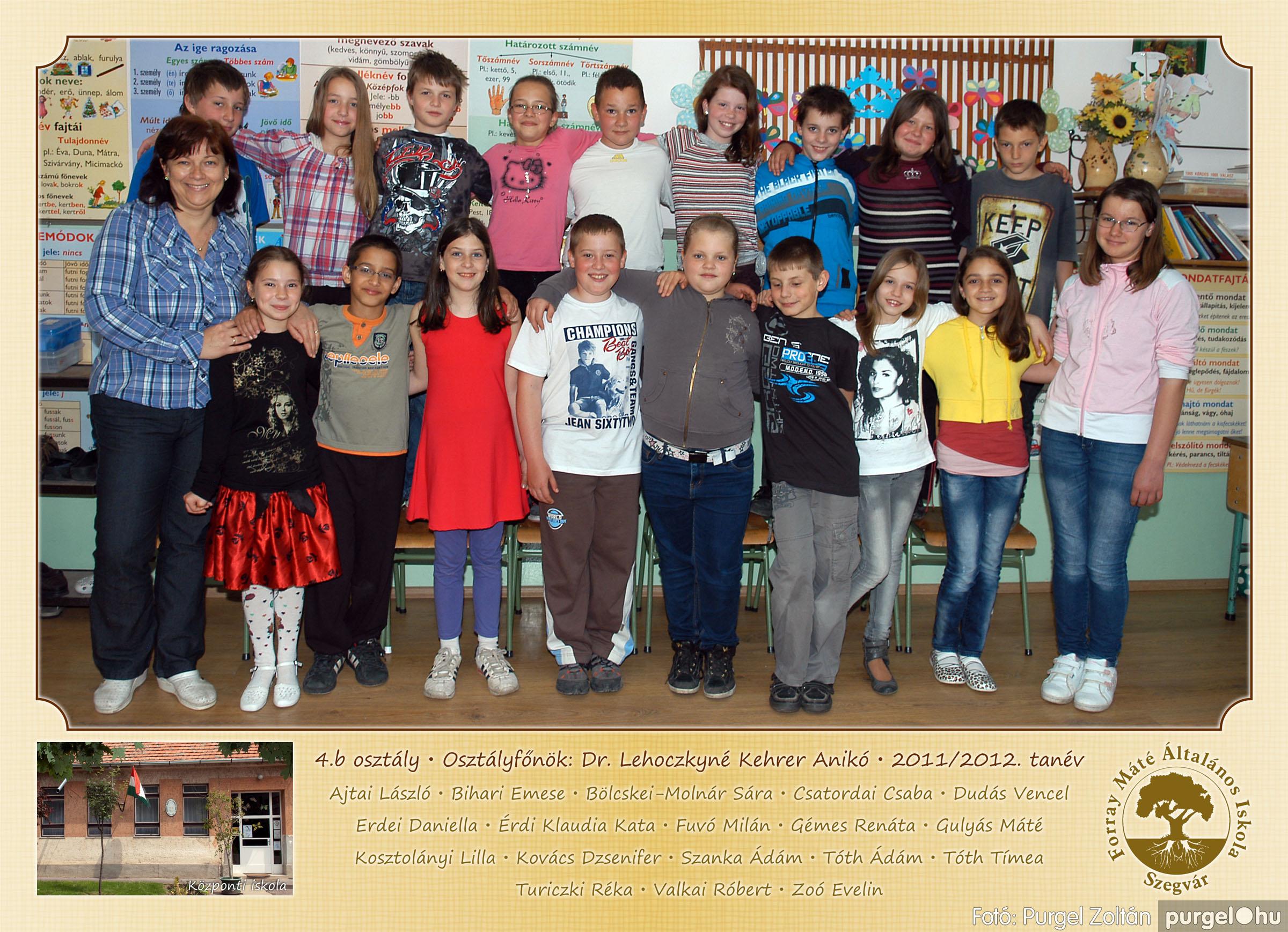 2012.04.25-06.12. 016 Forray Máté Általános Iskola osztályképek 2011. - Fotó:PURGEL ZOLTÁN© 4b-2.jpg