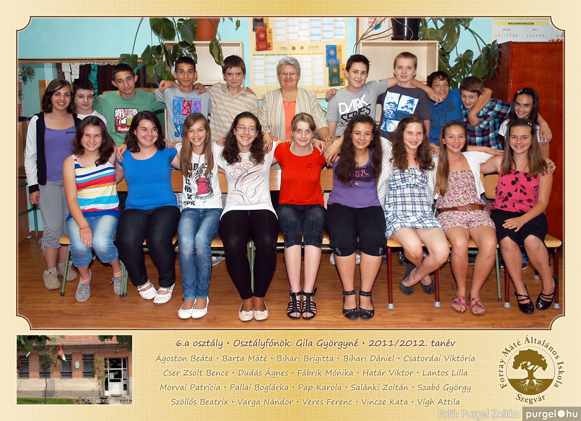 2012.04.25-06.12. 020 Forray Máté Általános Iskola osztályképek 2011. - Fotó:PURGEL ZOLTÁN© 6a-2.jpg