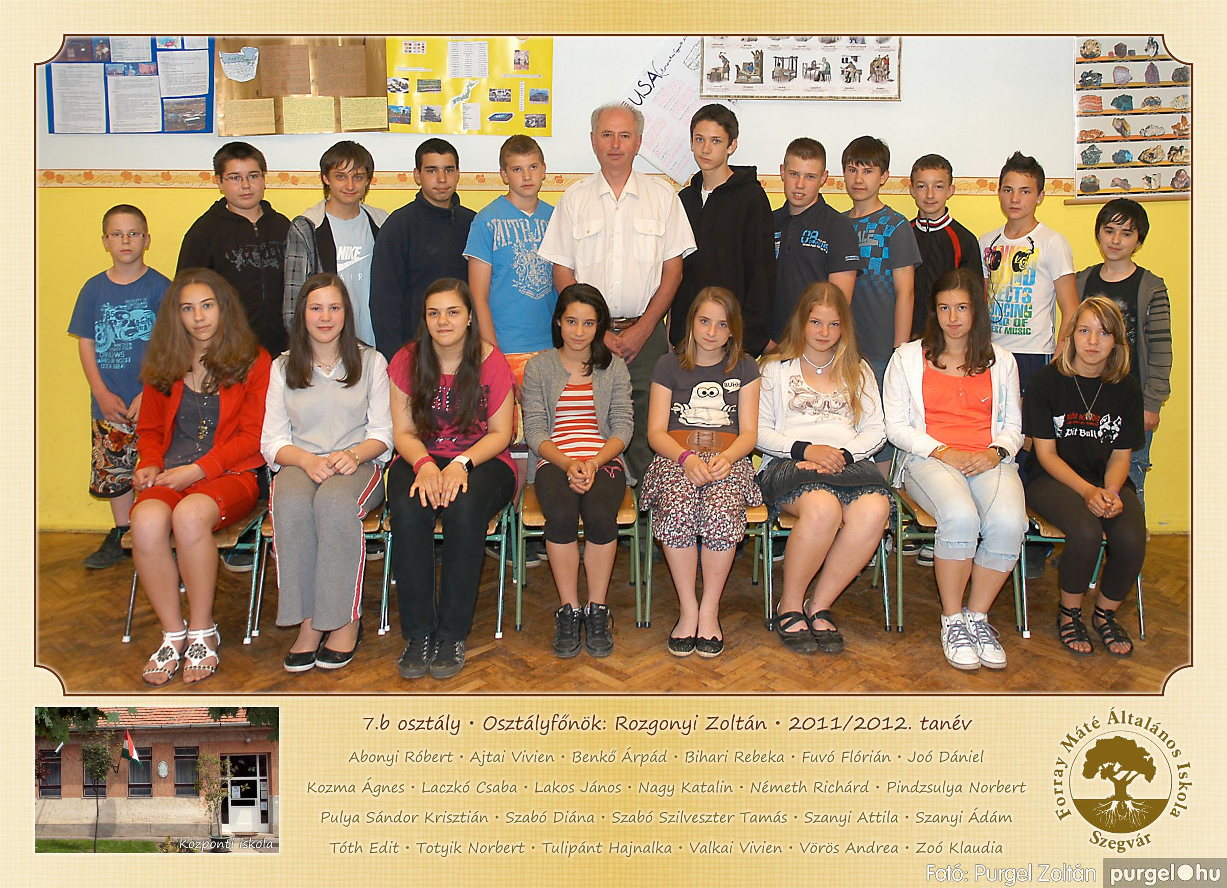 2012.04.25-06.12. 025 Forray Máté Általános Iskola osztályképek 2011. - Fotó:PURGEL ZOLTÁN© 7b1.jpg
