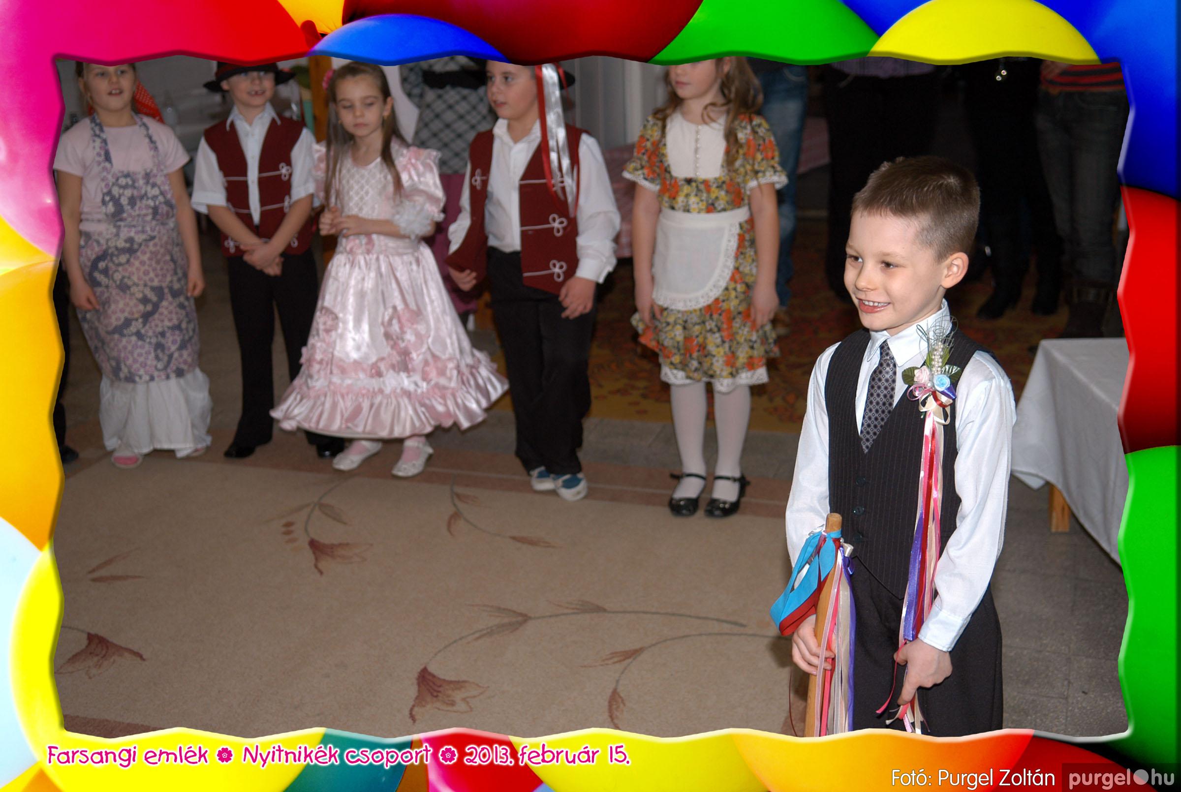 2013.02.15. 019 Kurca-parti Óvoda farsang 2013. - Nyitnikék csoport - Fotó:PURGEL ZOLTÁN© 519.jpg