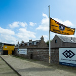 The Championship flag is at half-mast following the passing of Director Tom Christie