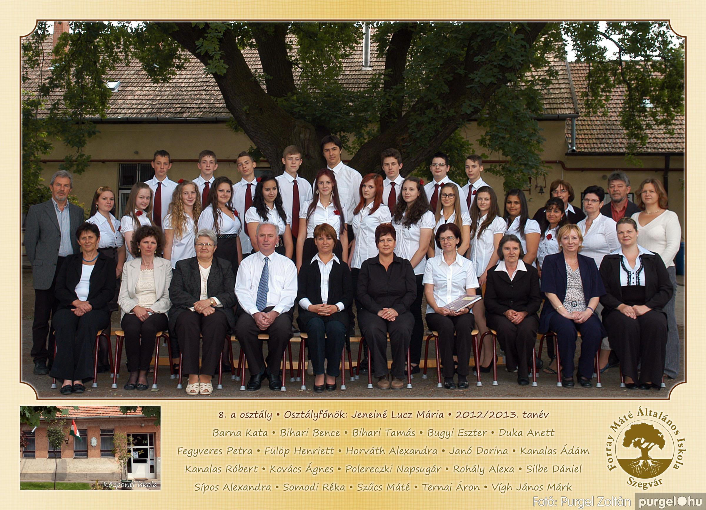 2013.04.04-05.24. 029 Forray Máté Általános Iskola osztályképek 2013. - Fotó:PURGEL ZOLTÁN© 8a.jpg