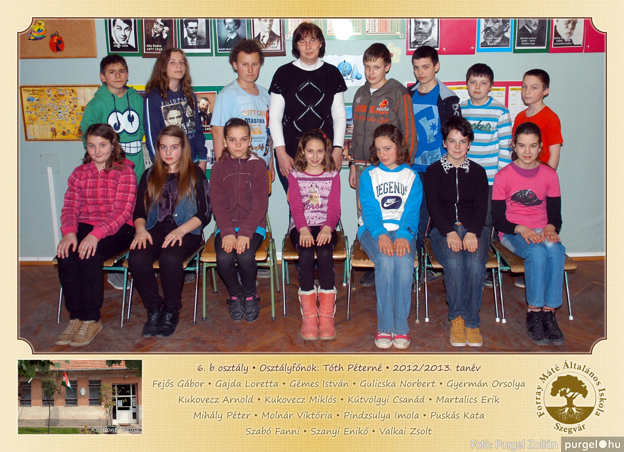 2013.04.04-05.24. 023 Forray Máté Általános Iskola osztályképek 2013. - Fotó:PURGEL ZOLTÁN© 6b-1.jpg