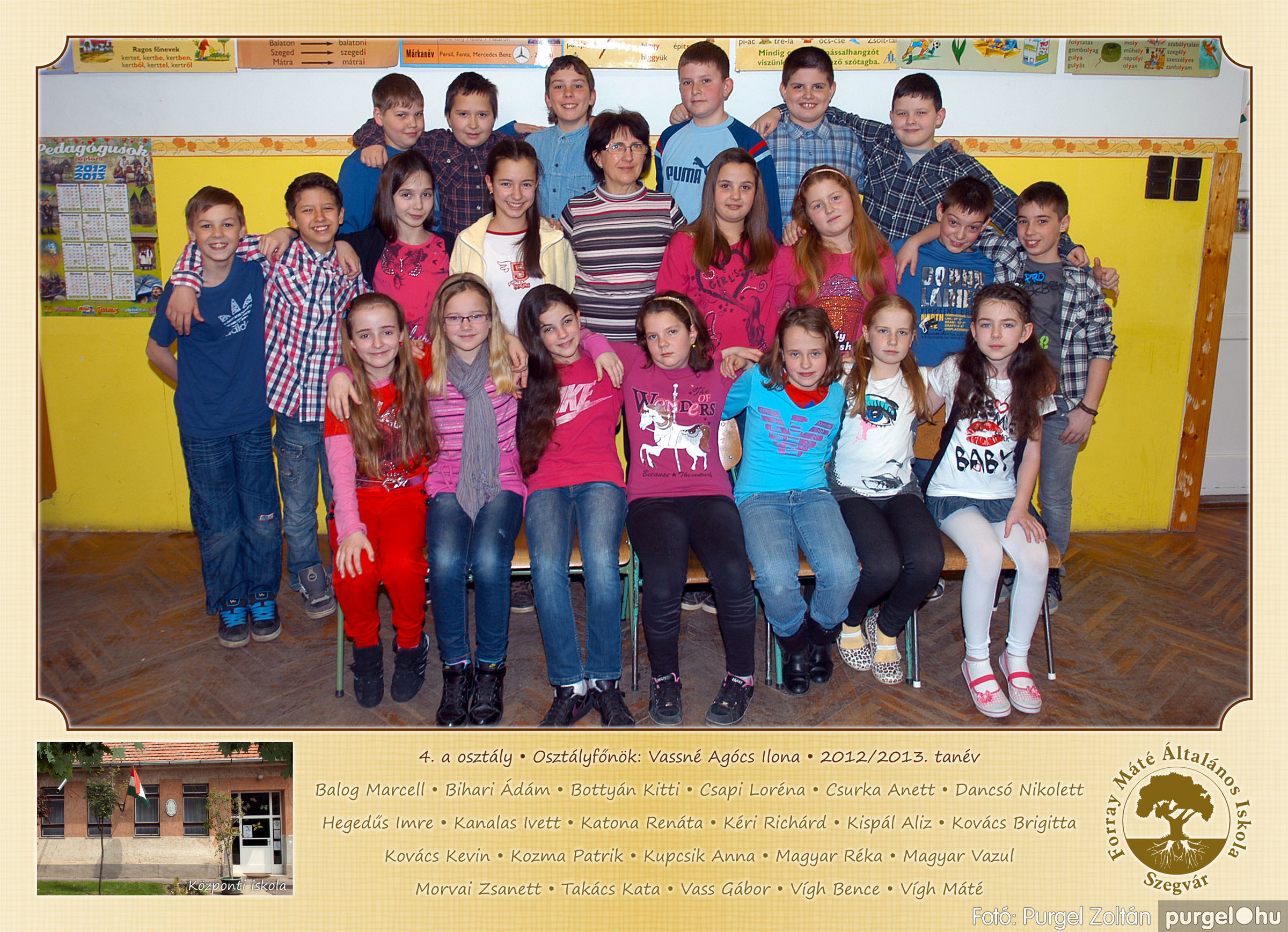 2013.04.04-05.24. 014 Forray Máté Általános Iskola osztályképek 2013. - Fotó:PURGEL ZOLTÁN© 4a-2.jpg