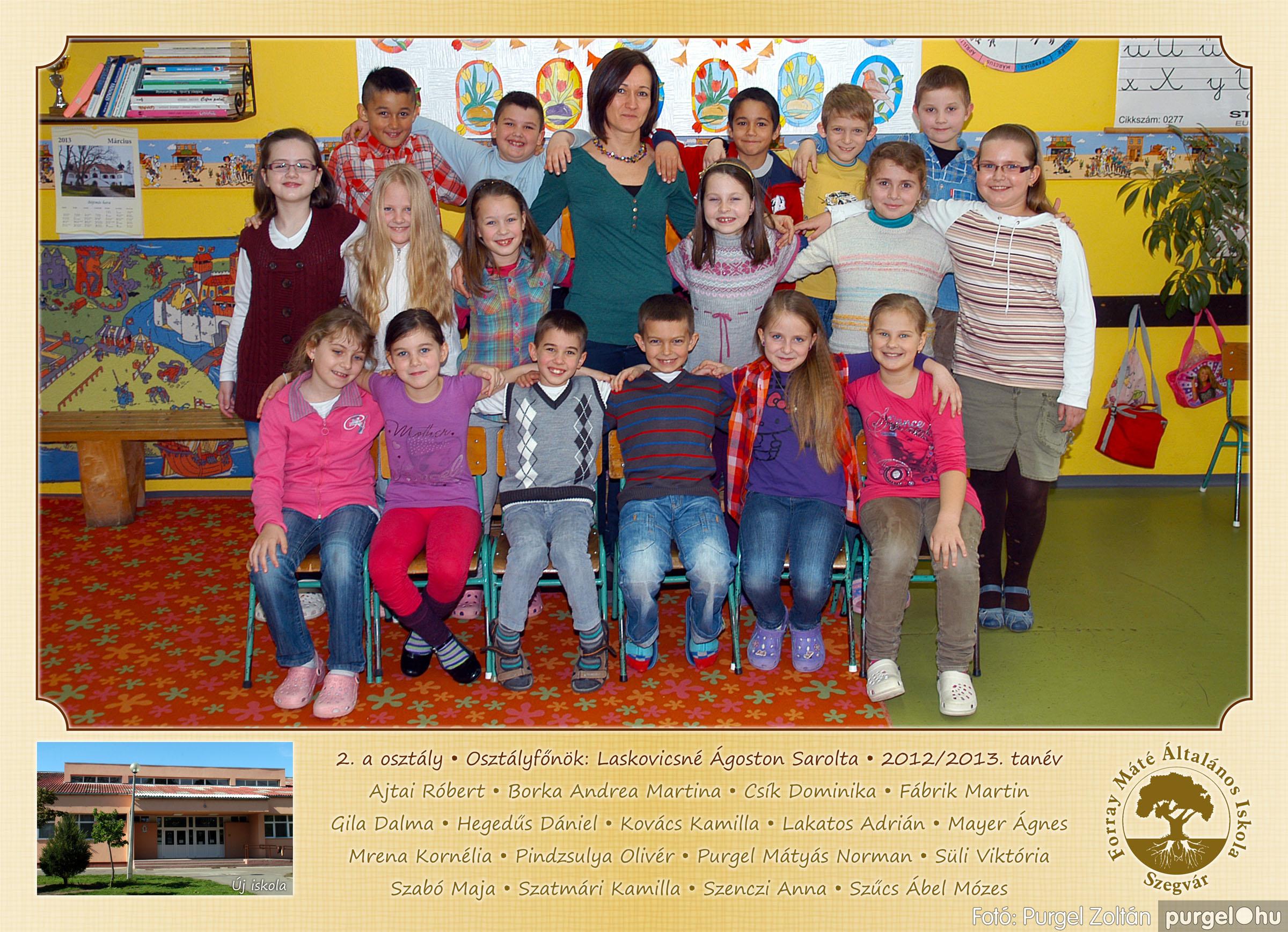 2013.04.04-05.24. 006 Forray Máté Általános Iskola osztályképek 2013. - Fotó:PURGEL ZOLTÁN© 2a-2.jpg