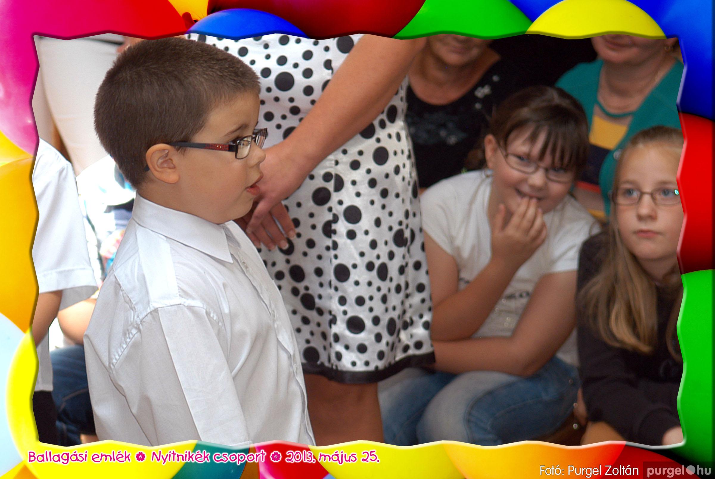 2013.05.25. 214 Kurca-parti Óvoda évzáró 2013. - Nyitnikék csoport - Fotó:PURGEL ZOLTÁN© 535.jpg