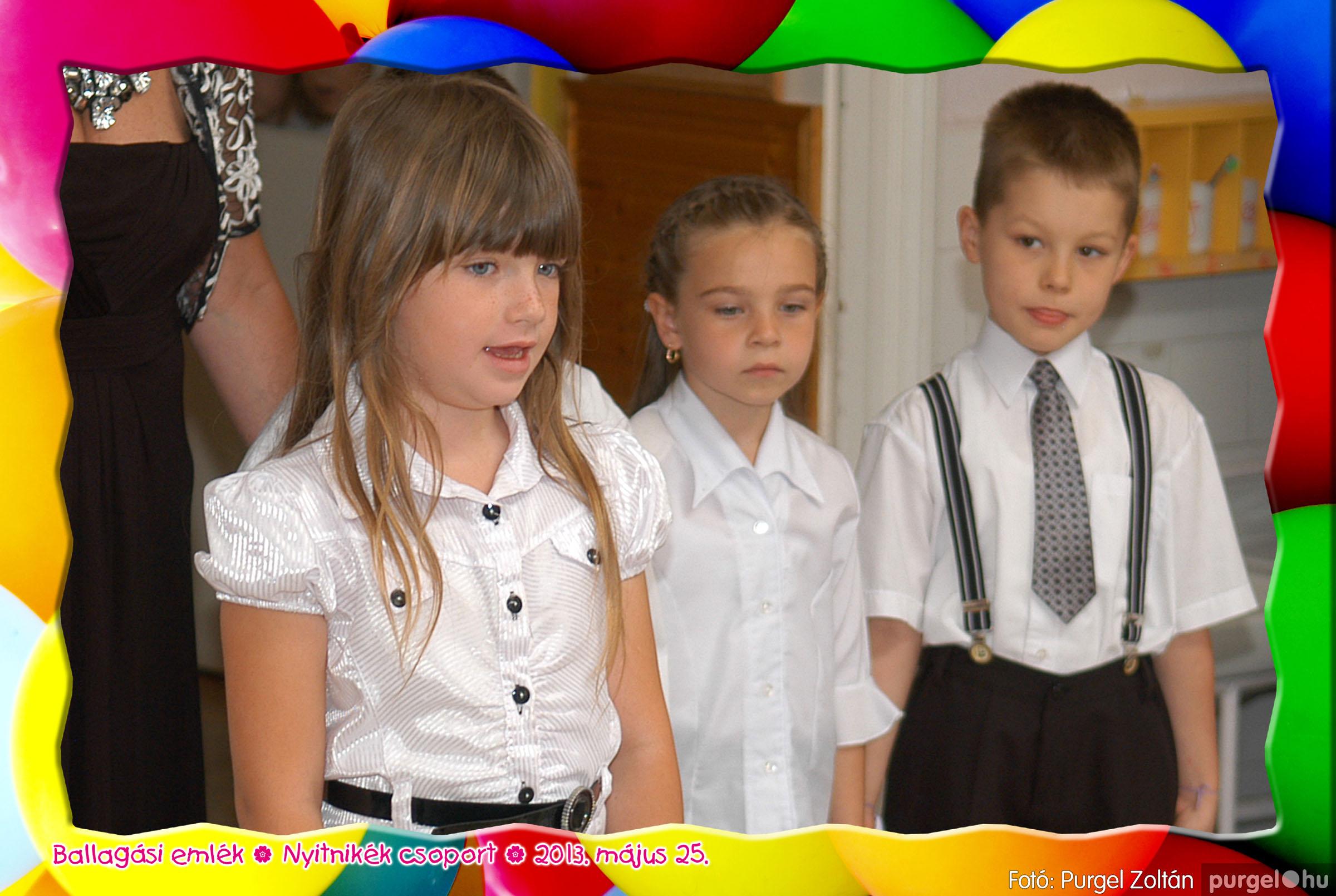 2013.05.25. 206 Kurca-parti Óvoda évzáró 2013. - Nyitnikék csoport - Fotó:PURGEL ZOLTÁN© 527.jpg