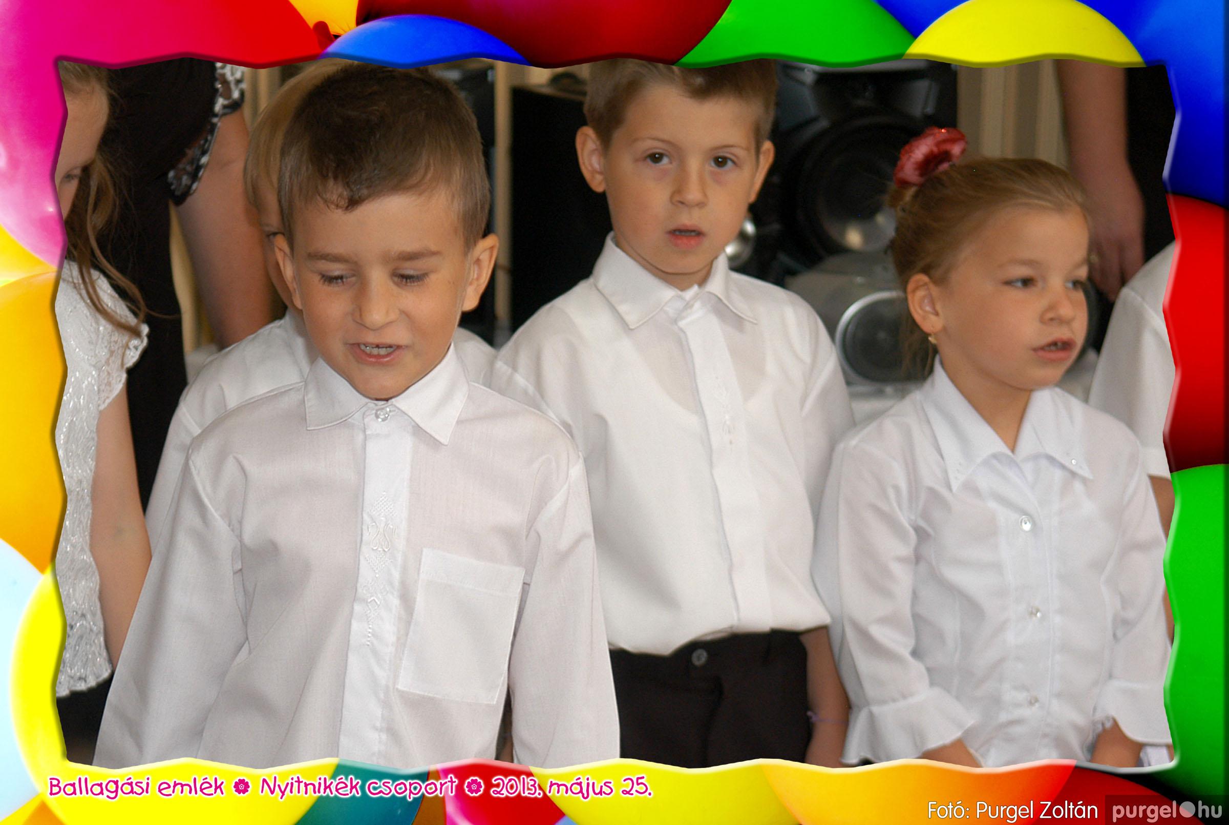2013.05.25. 200 Kurca-parti Óvoda évzáró 2013. - Nyitnikék csoport - Fotó:PURGEL ZOLTÁN© 521.jpg