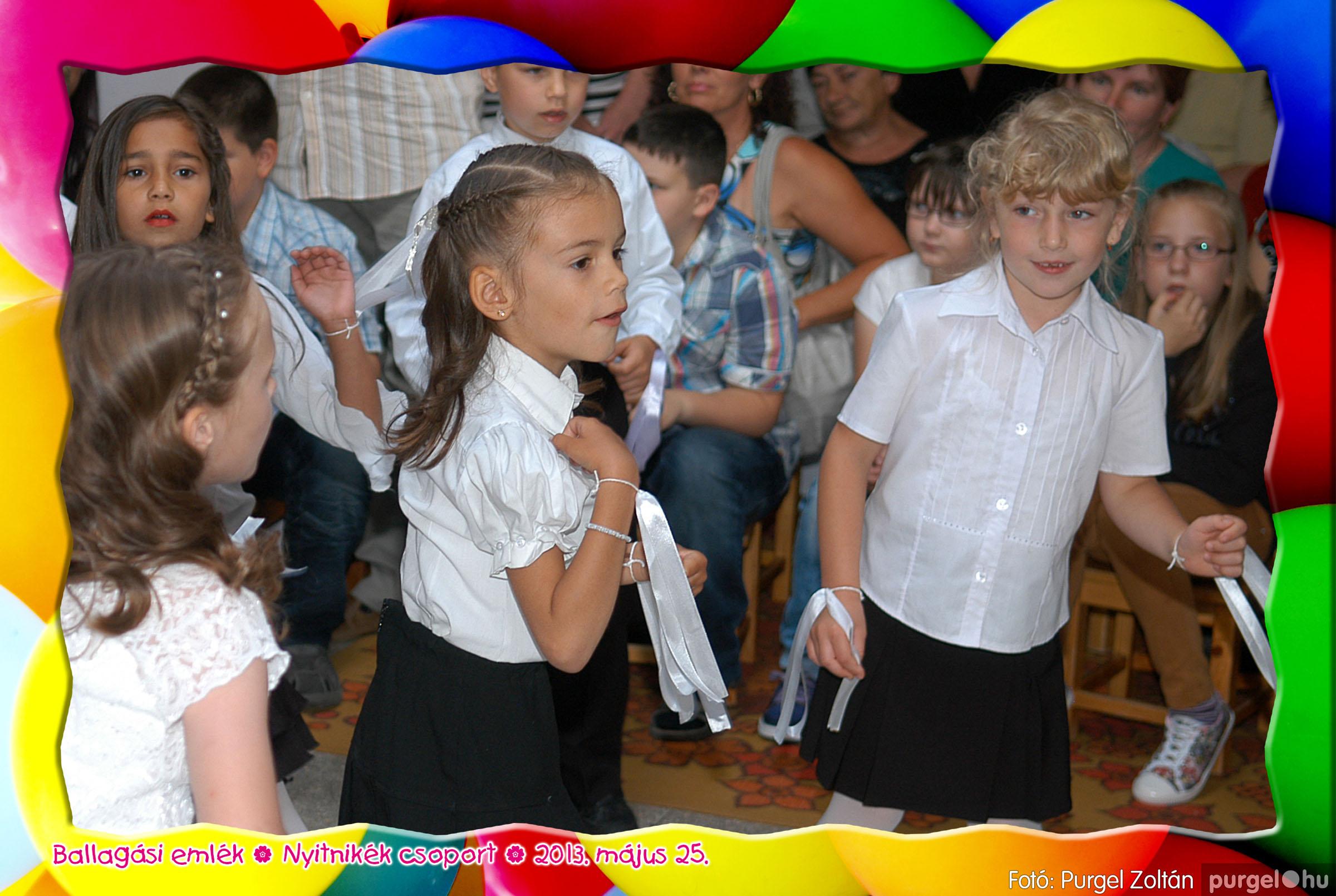 2013.05.25. 182 Kurca-parti Óvoda évzáró 2013. - Nyitnikék csoport - Fotó:PURGEL ZOLTÁN© 503.jpg