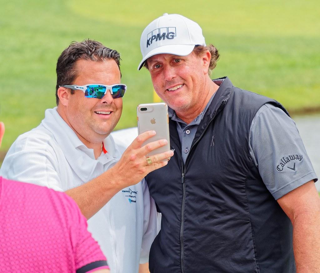 Phil Mickelson @ 2019 Memorial Golf Tournament Pro-Am