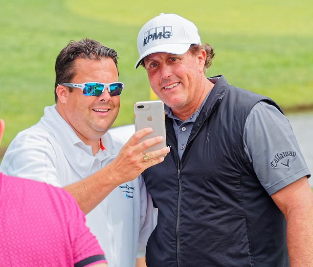 Phil Mickelson @ 2019 Memorial Golf Tournament Pro-Am