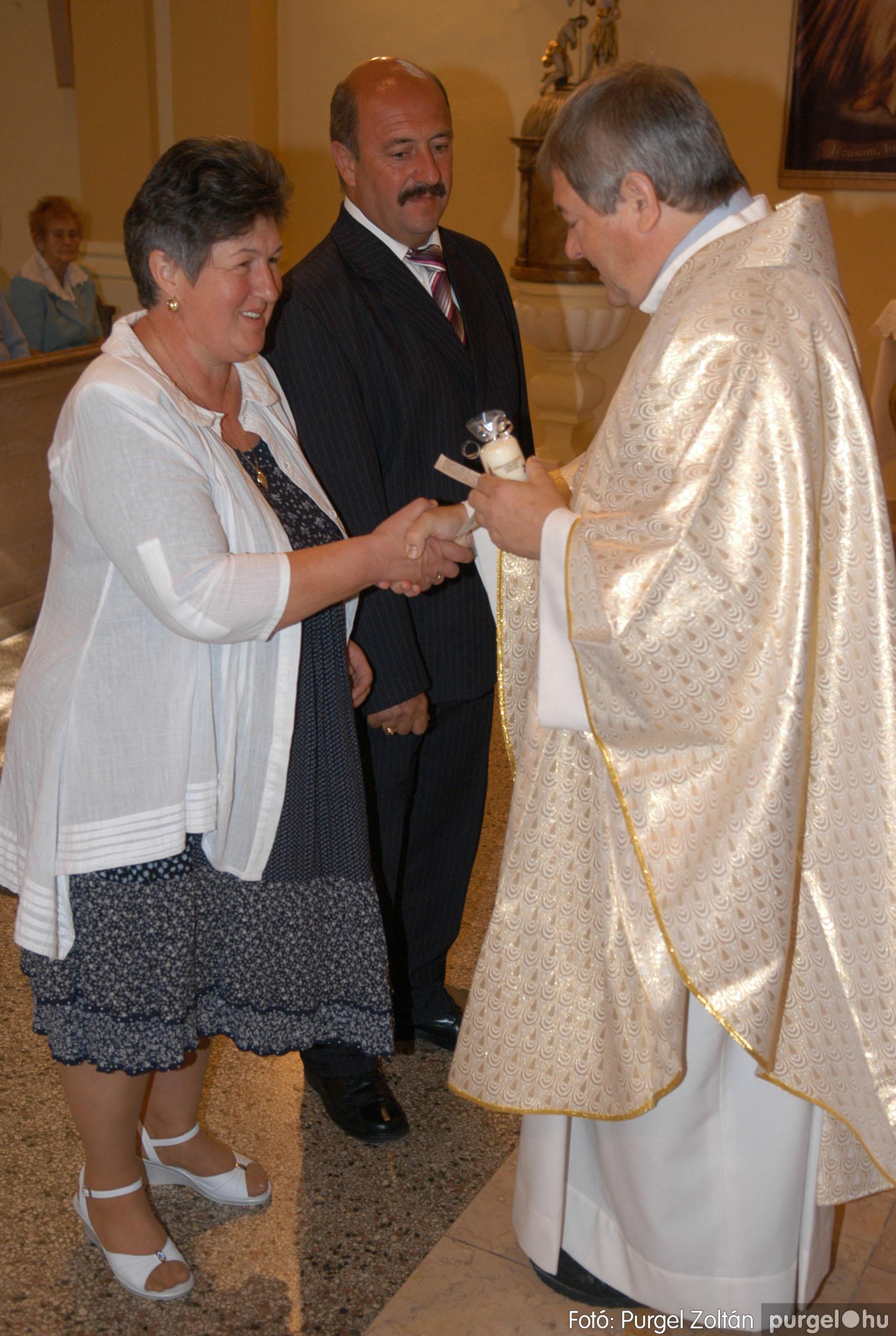 2012.09.23. 070 Kisboldogasszony Templom házassági évfordulók - Fotó:PURGEL ZOLTÁN© DSC_0183q.jpg