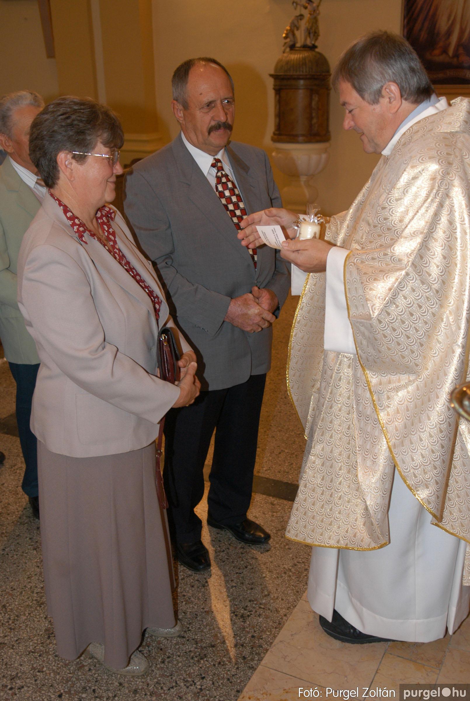 2012.09.23. 046 Kisboldogasszony Templom házassági évfordulók - Fotó:PURGEL ZOLTÁN© DSC_0157q.jpg