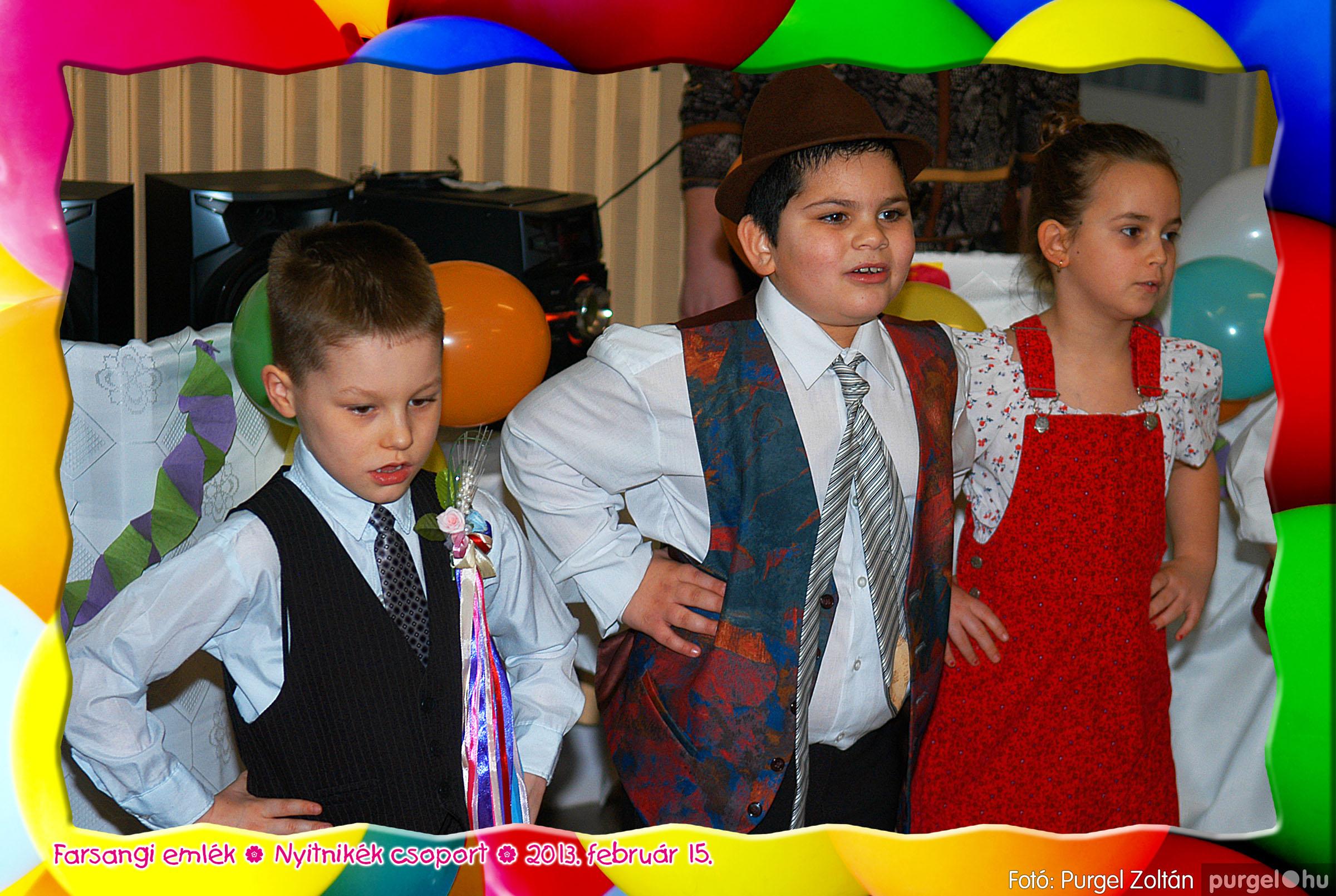 2013.02.15. 034 Kurca-parti Óvoda farsang 2013. - Nyitnikék csoport - Fotó:PURGEL ZOLTÁN© 534.jpg