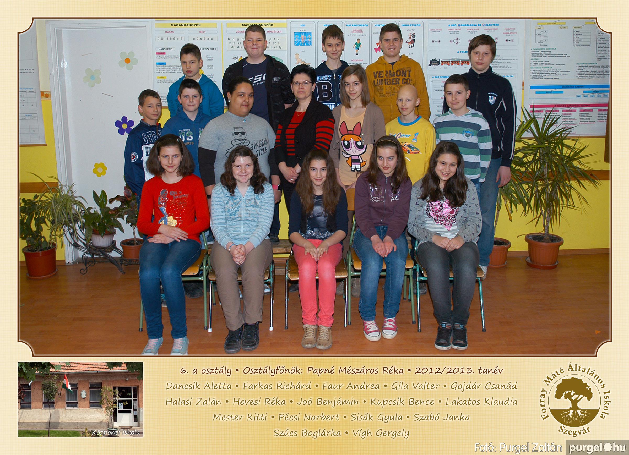 2013.04.04-05.24. 022 Forray Máté Általános Iskola osztályképek 2013. - Fotó:PURGEL ZOLTÁN© 6a-2.jpg