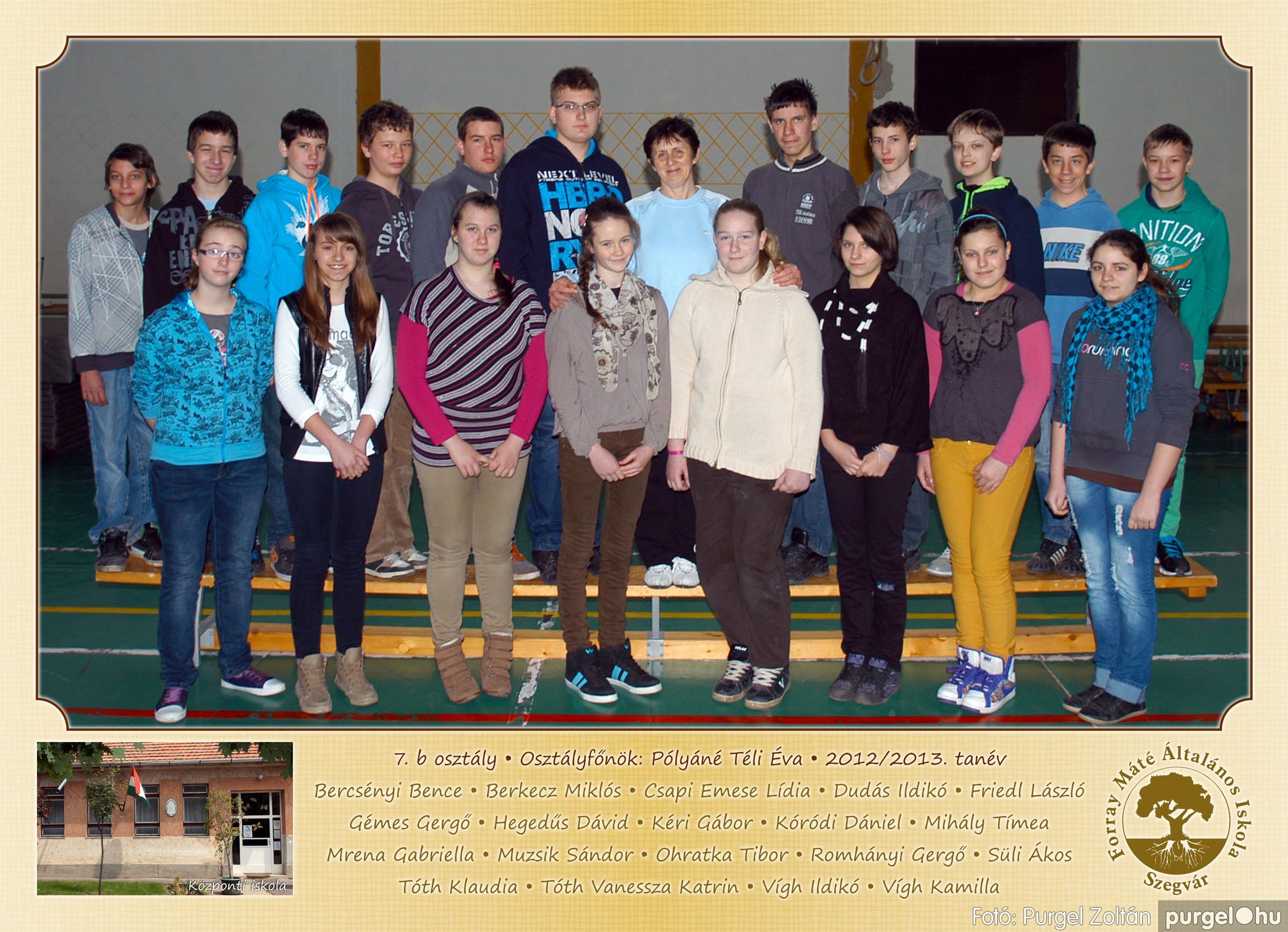2013.04.04-05.24. 028 Forray Máté Általános Iskola osztályképek 2013. - Fotó:PURGEL ZOLTÁN© 7b-2.jpg